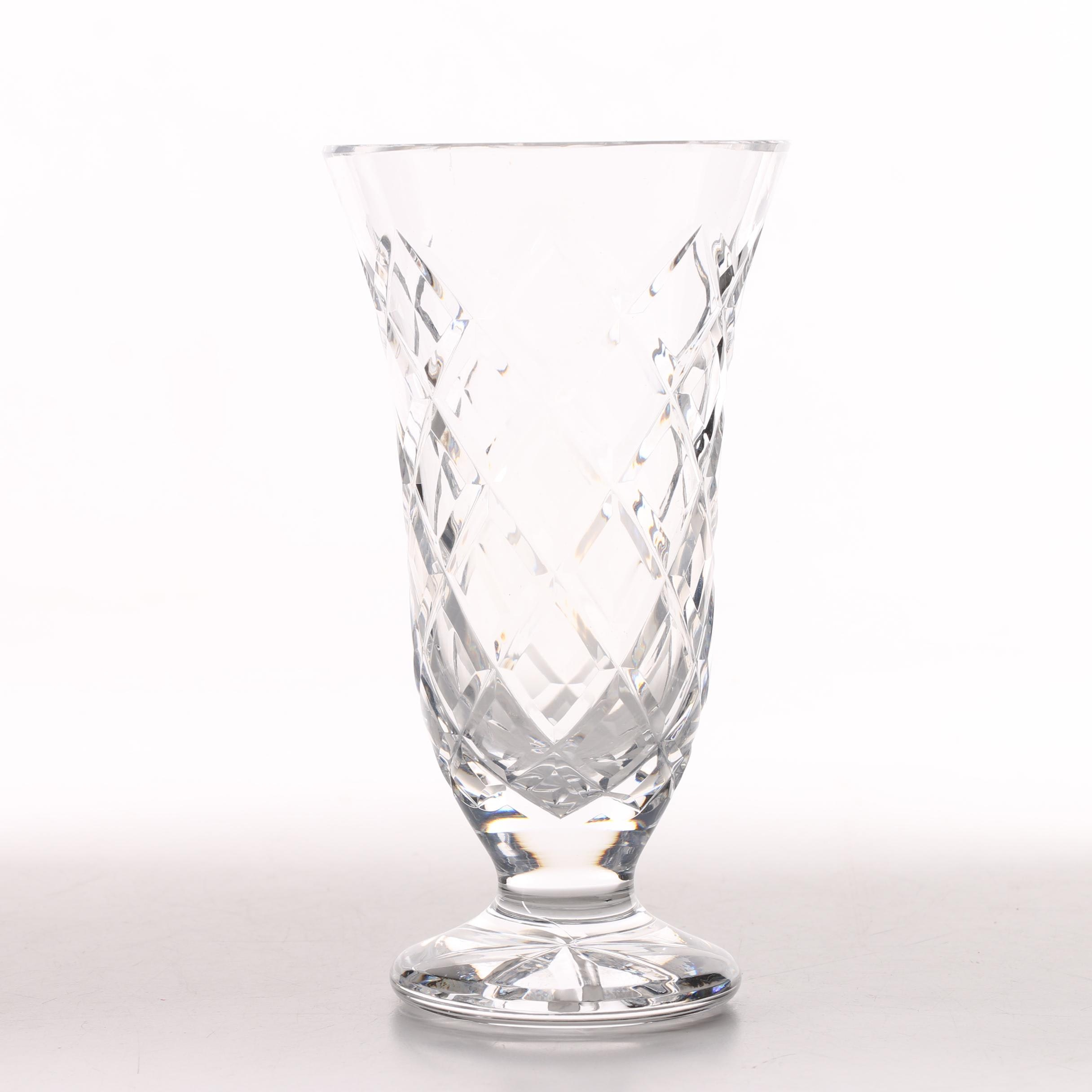 Waterford Crystal Flower Vase ...  sc 1 th 225 & Waterford Crystal Flower Vase : EBTH