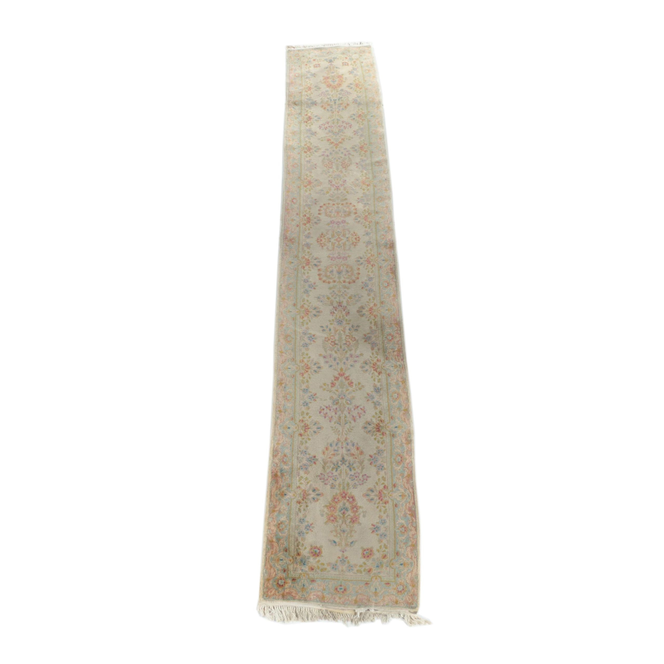 Hand-Knotted Persian Mehriban Carpet Runner