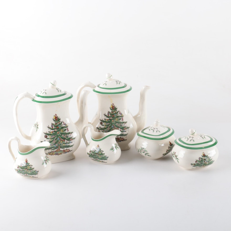 Gallery of Spode Christmas Tree Teapot - Fabulous Homes Interior ...