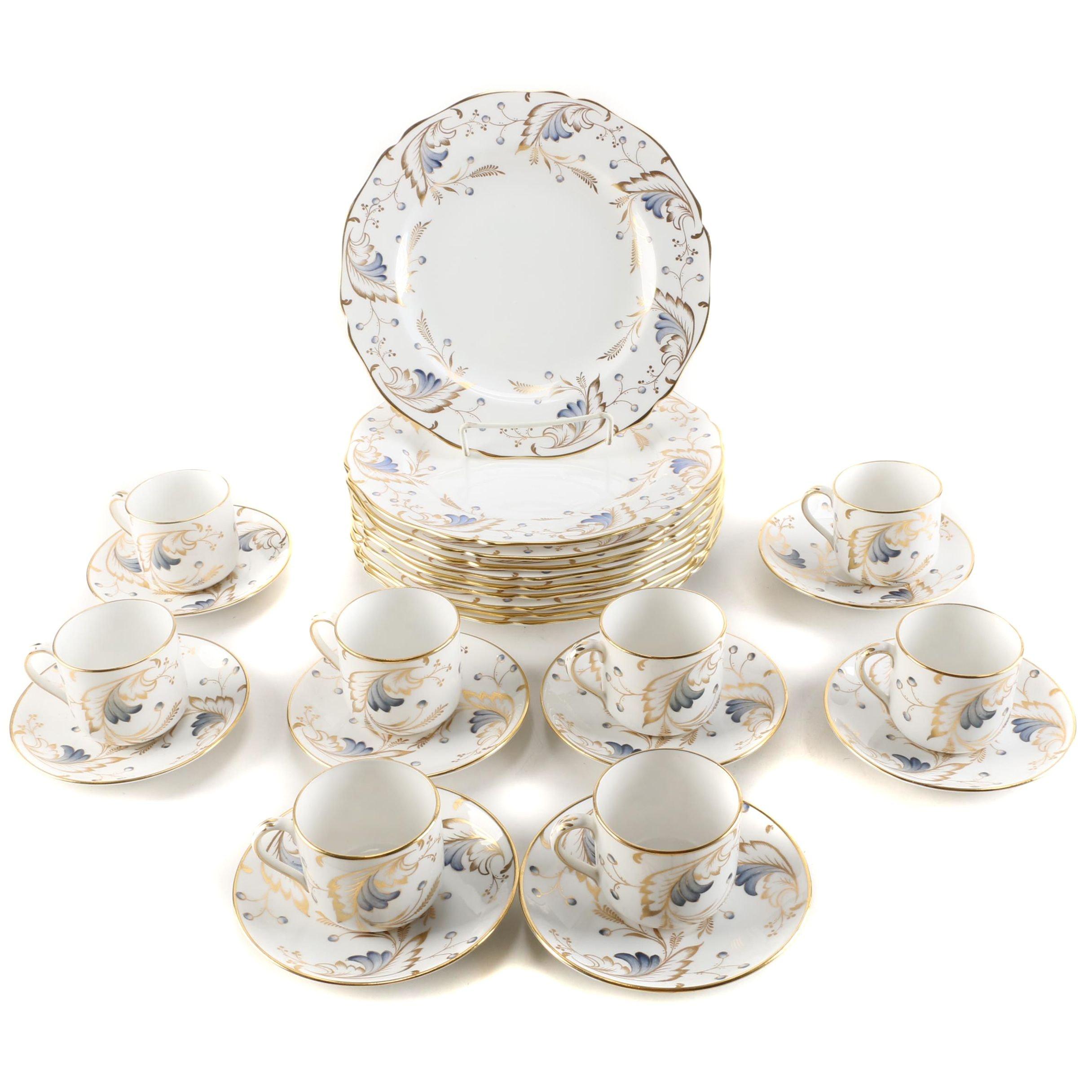 "Grosvenor China ""Royce"" Dinnerware For Tiffany & Co."