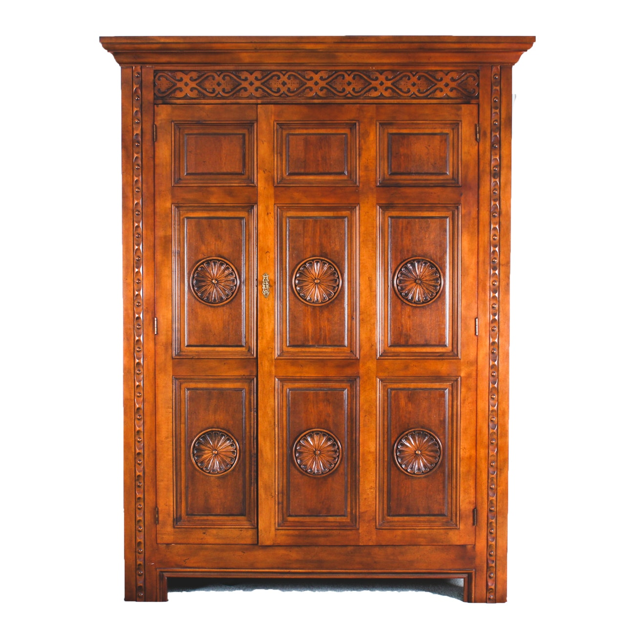 Ordinaire Renaissance Revival Style Armoire By Baker Furniture ...