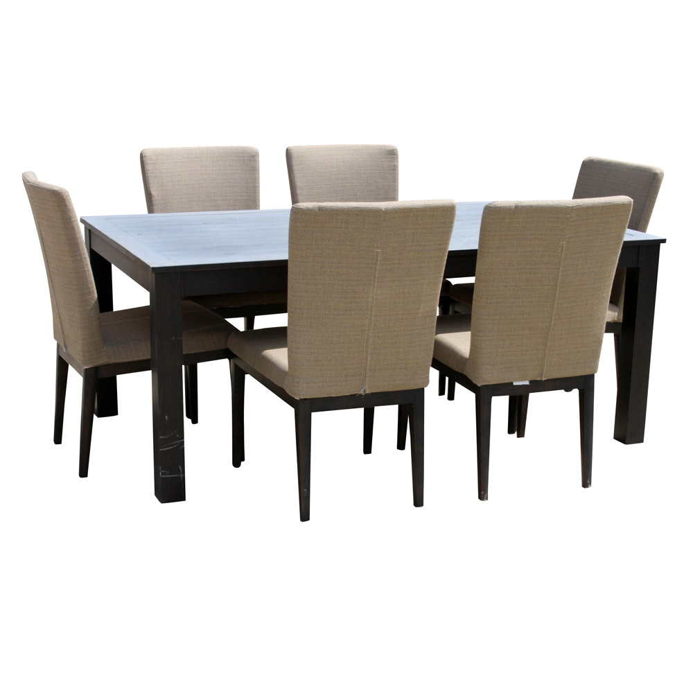 Metal Patio Dining Table with Chairs