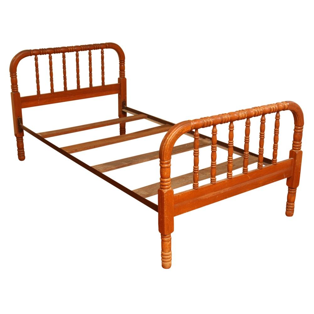 "Vintage ""Jenny Lind"" Style Twin Bed Frame"