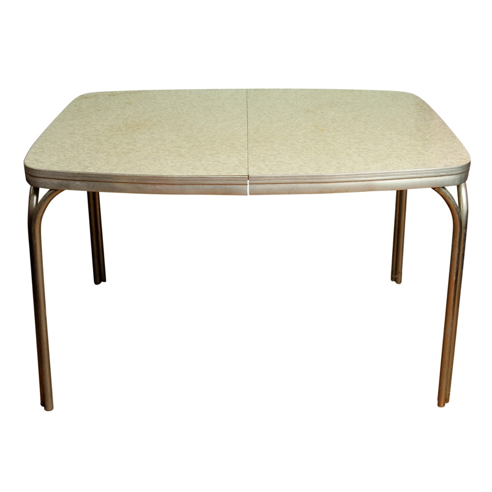 Vintage Formica Top Dining Table