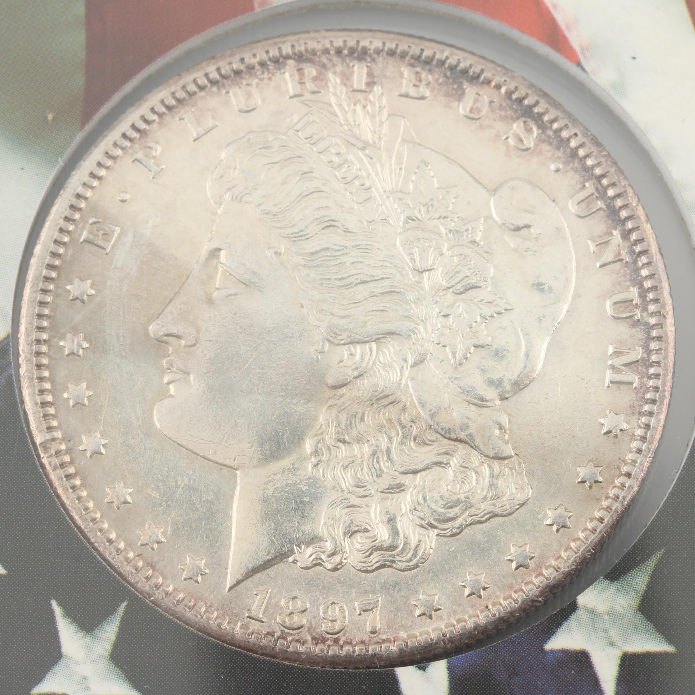 1897-S Silver Morgan Dollar