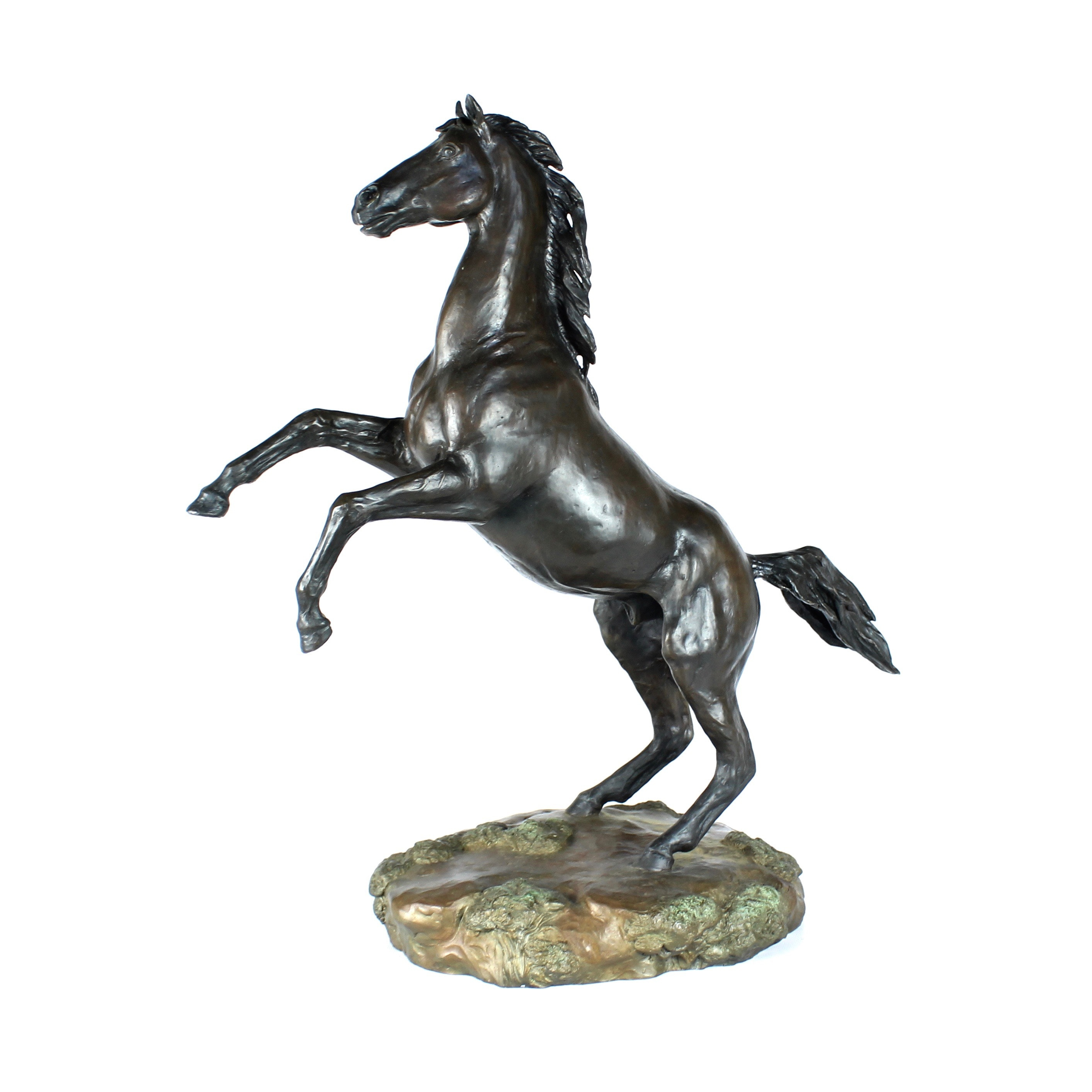 Juan Dell Bronze Sculpture of Stallion