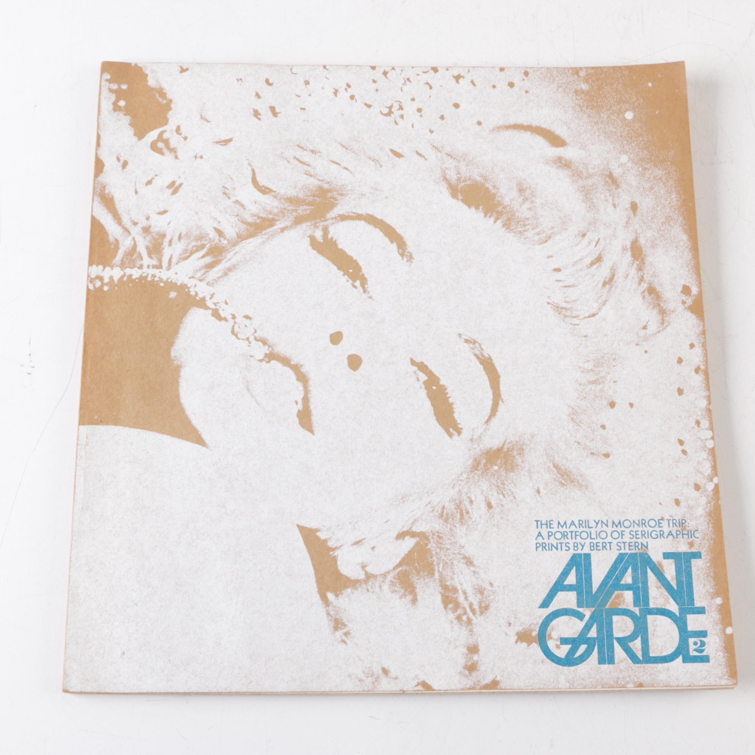 """1968 """"Avant Garde"""" Magazine Issue Number Two Featuring Marilyn Monroe"""