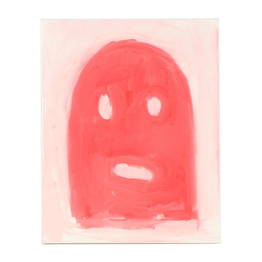 "Michael Stillion Oil Painting ""Ghost"""
