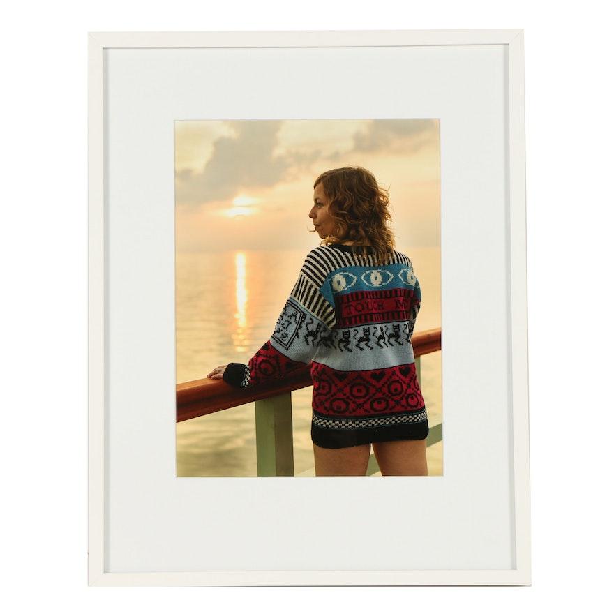 """Lisa Anne Auerbach Digital Photograph """"Touch Me"""""""
