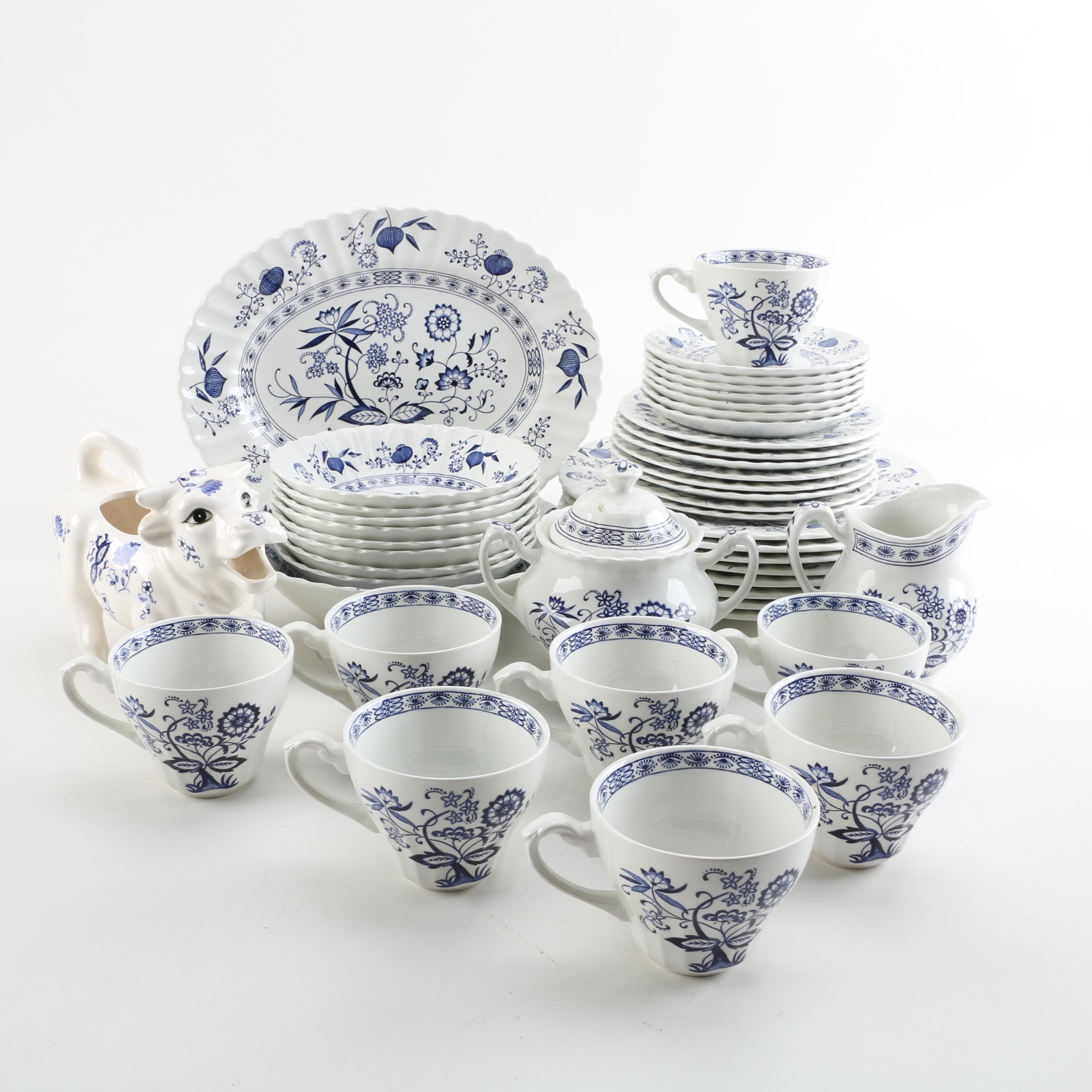 """J&G Meakin """"Blue Nordic"""" Tableware"""