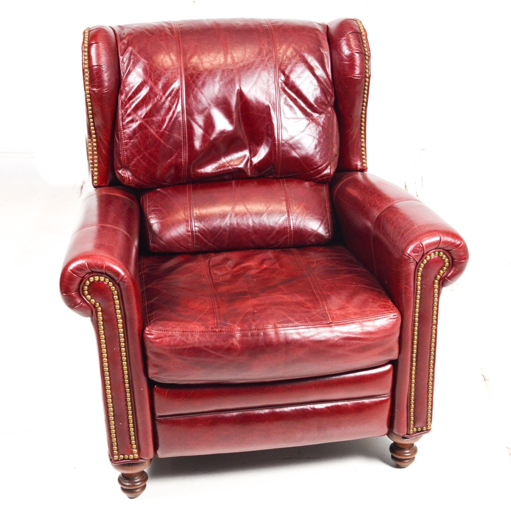 Bradington-Young Leather Recliner Armchair