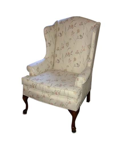 Queen Anne Style Wingback Armchair by Sam Moore Industries, Inc.