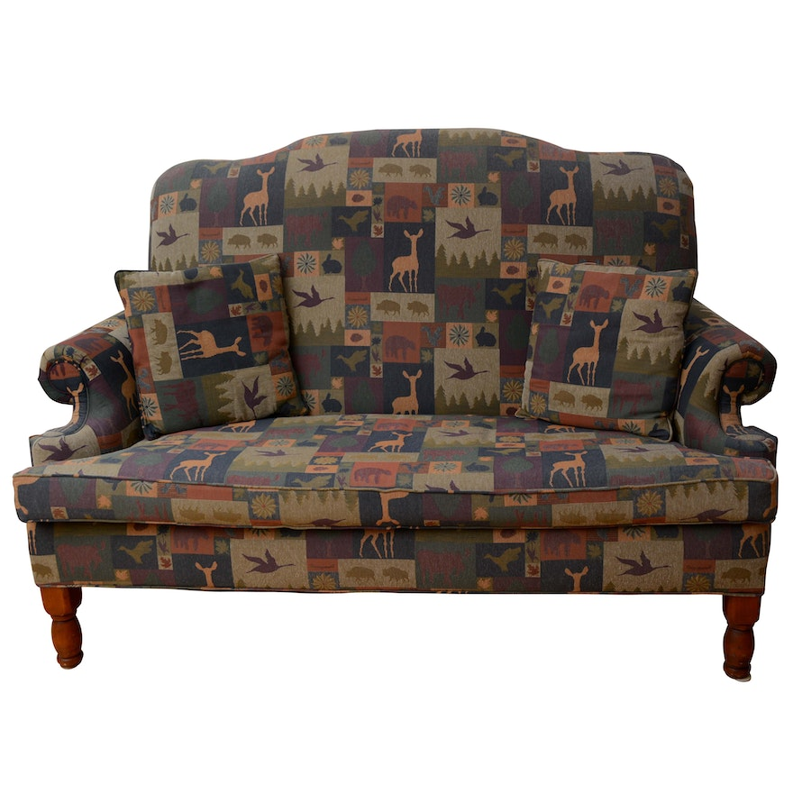 Remarkable American Cabin Sofa By Bob Timberlake Andrewgaddart Wooden Chair Designs For Living Room Andrewgaddartcom