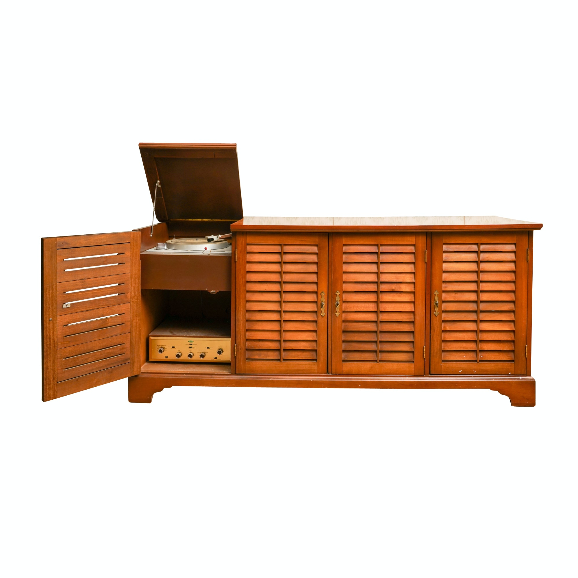 Vintage Record Cabinet by Hooker Furniture Corporation