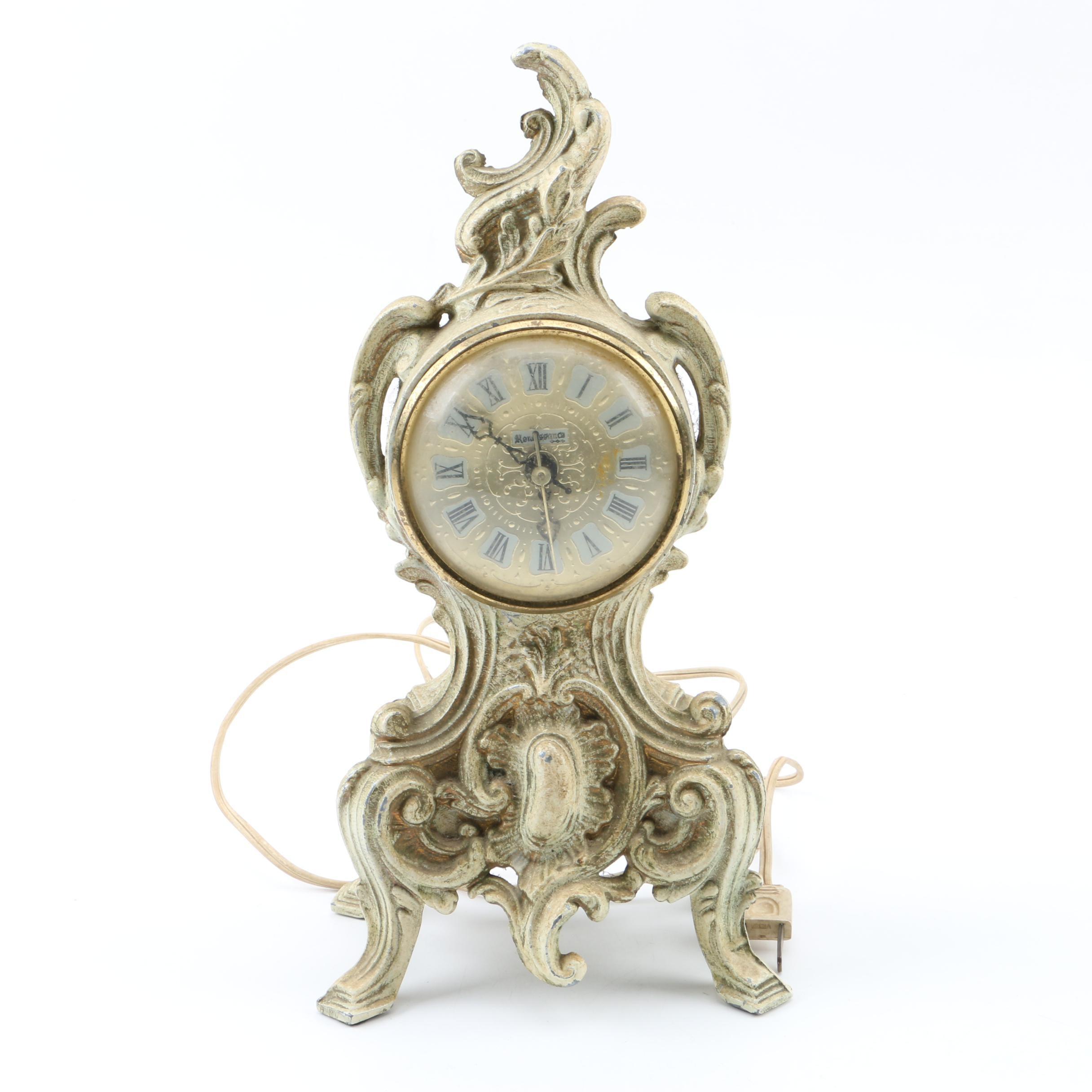 Vintage French Style Renaissance Shelf Clock