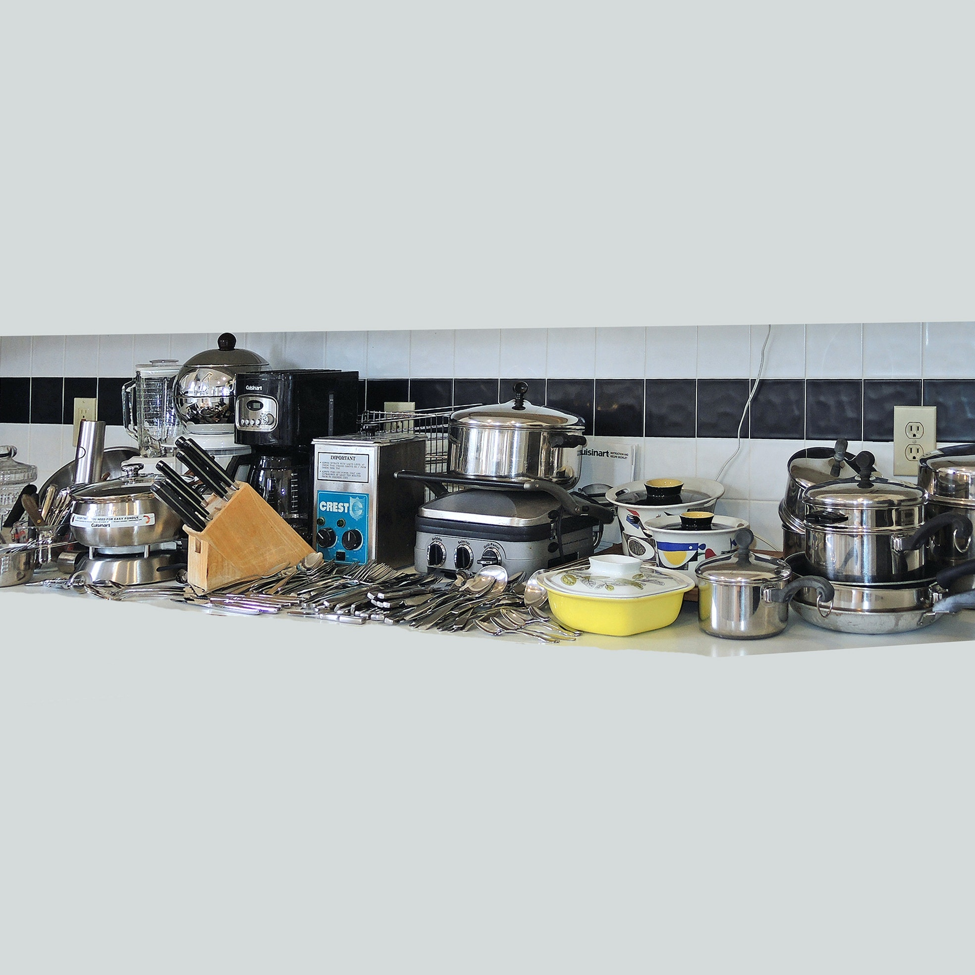 Kitchen Gadgets and Accessories including Farberware, George Briard and Henckels