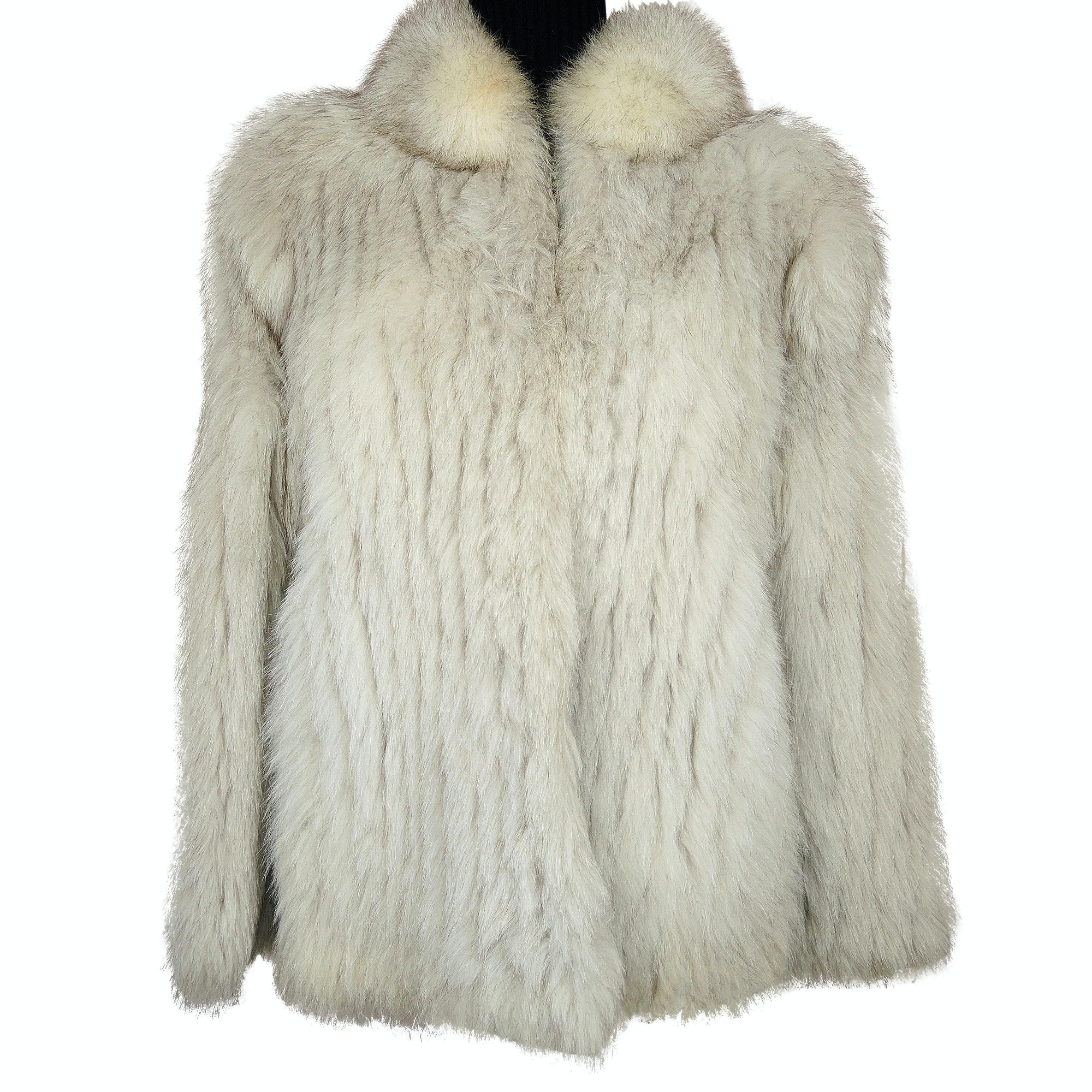 Women's Fox Fur Coat