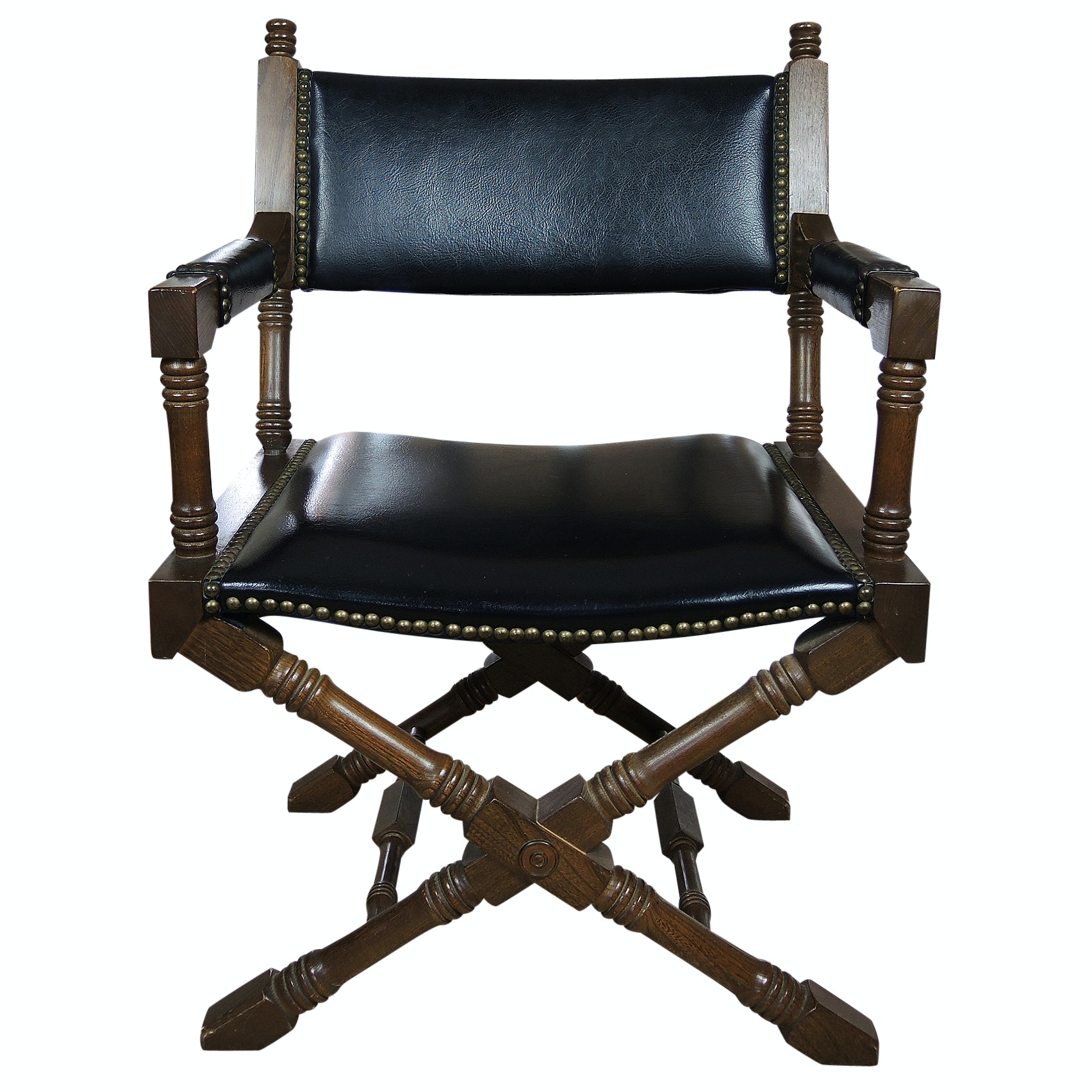 Vintage Campaign Style Chair