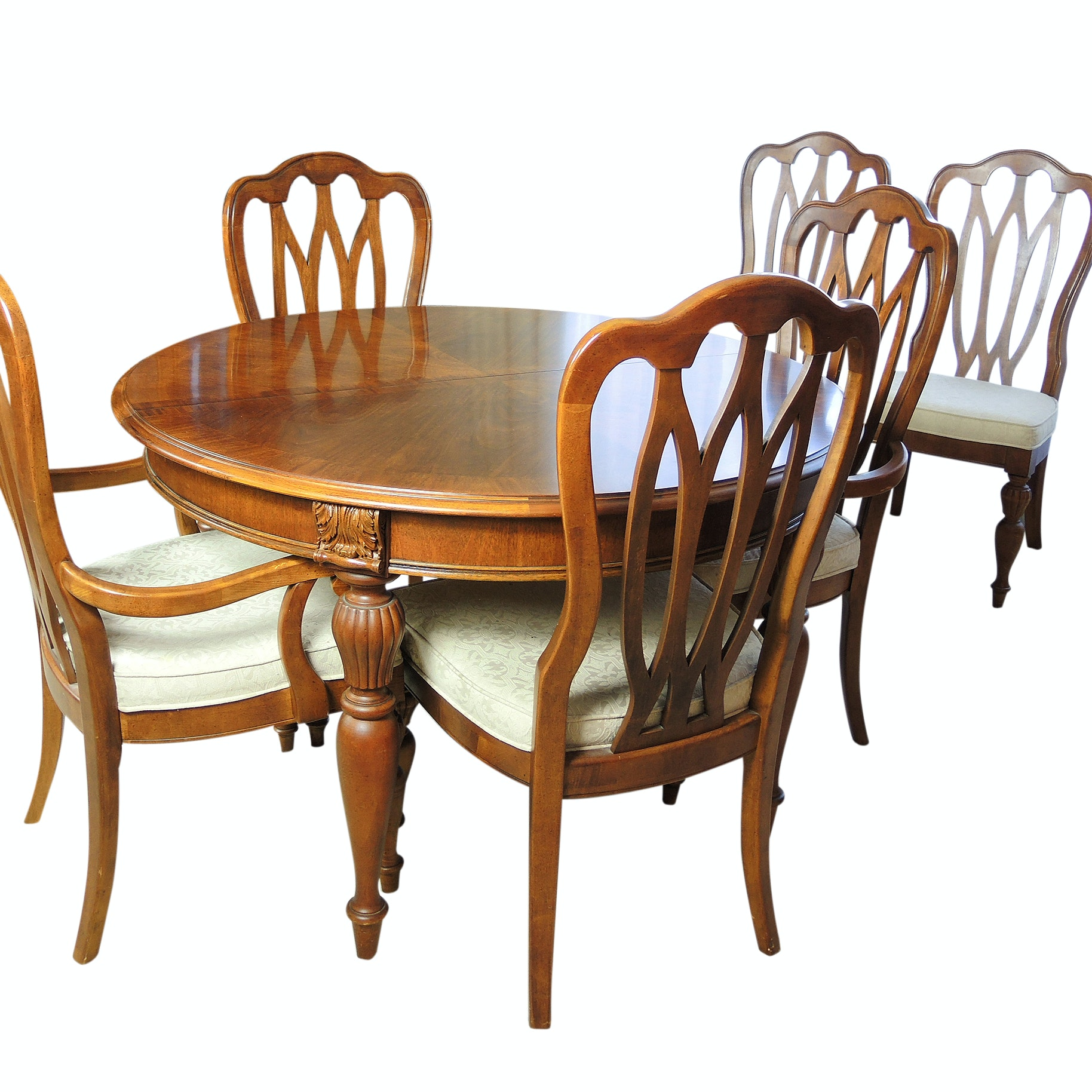 Stanley Furniture Dining Table and Chairs