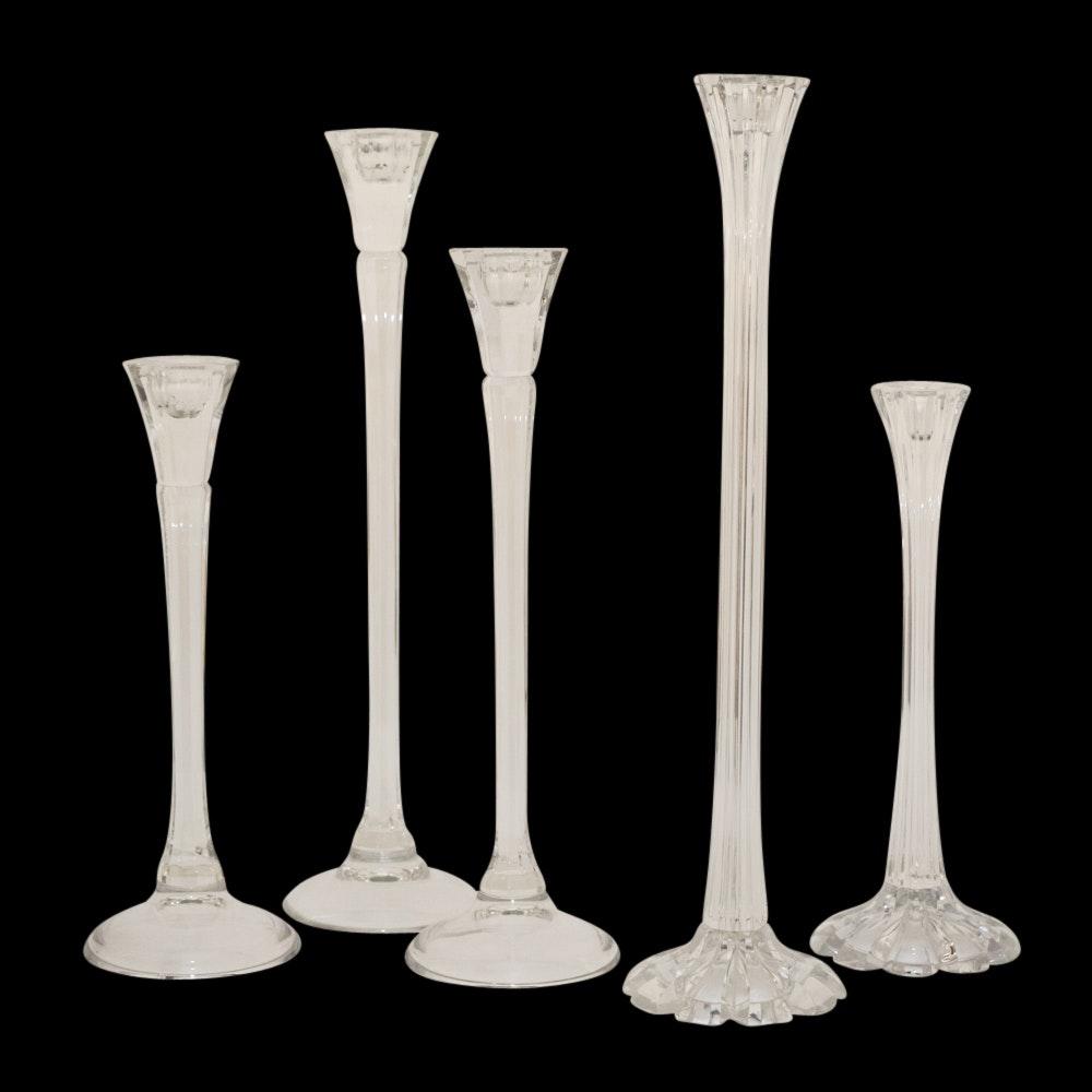 Riedel Crystal Candlesticks