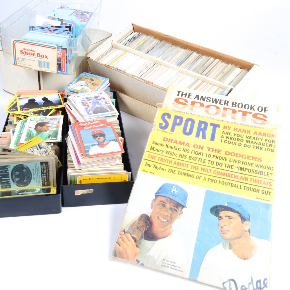 Vintage Baseball Trading Card Collection