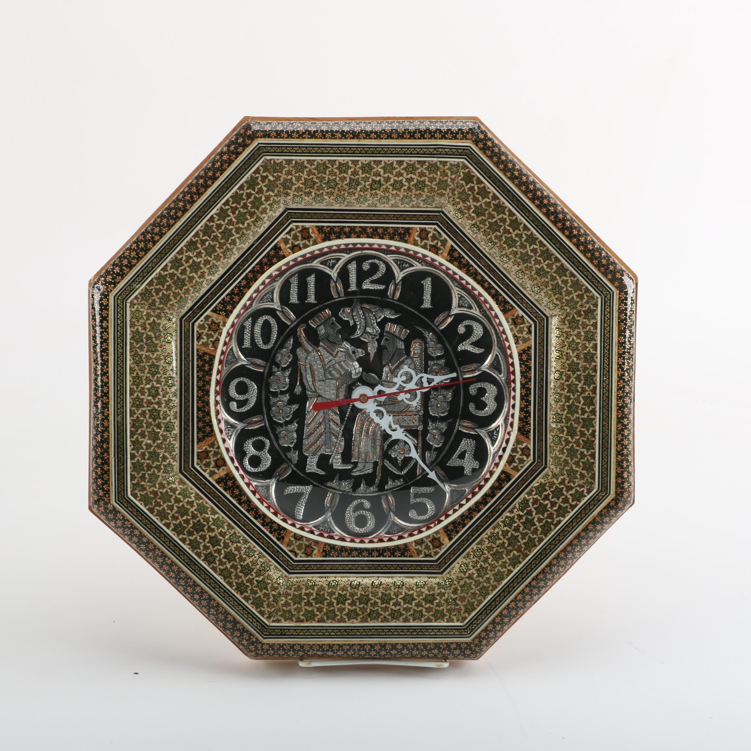 Persian Style Wall Clock