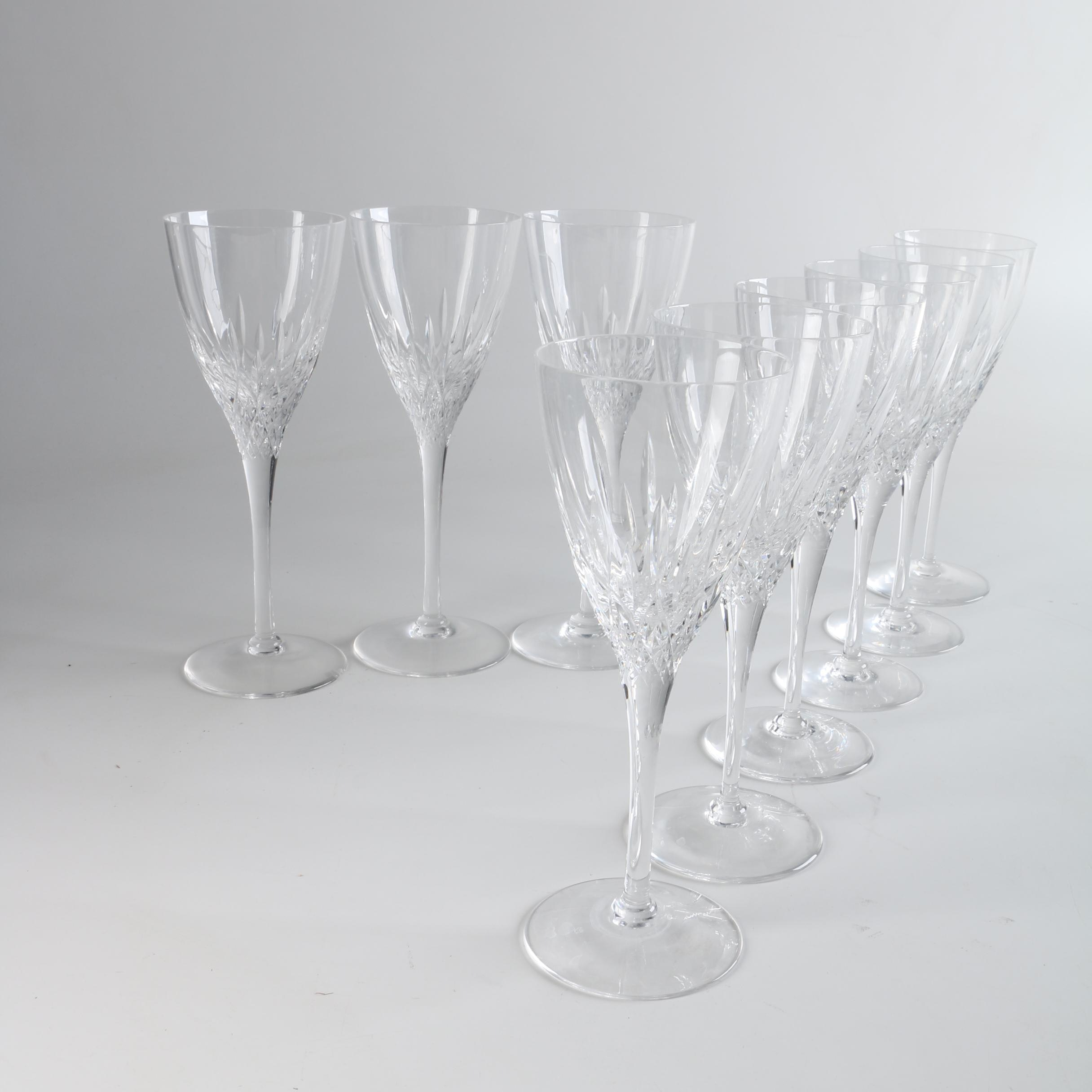"Stuart Crystal ""Madison"" Water Goblets"