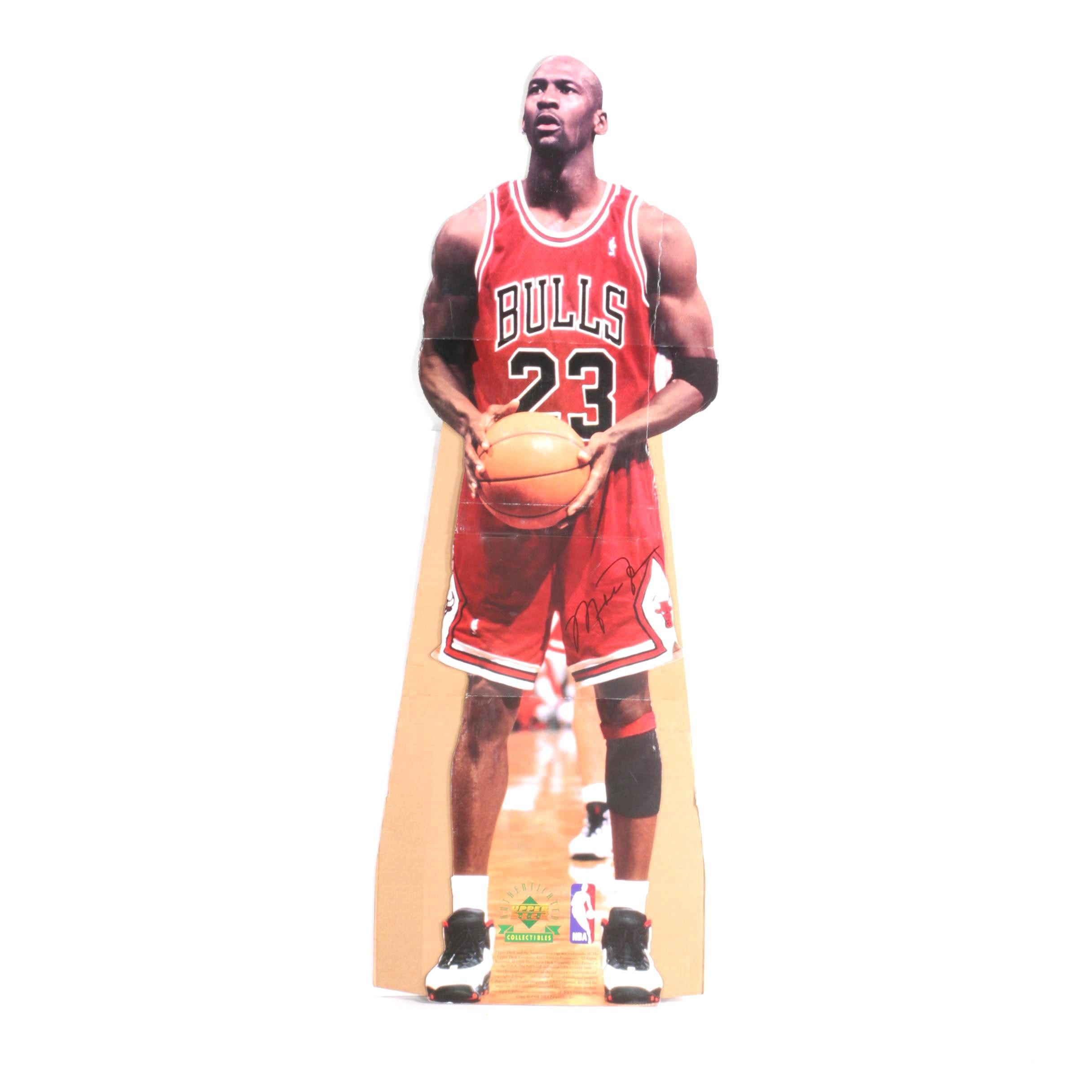 1998 Upper Deck Michael Jordan Cardboard Cut-Out