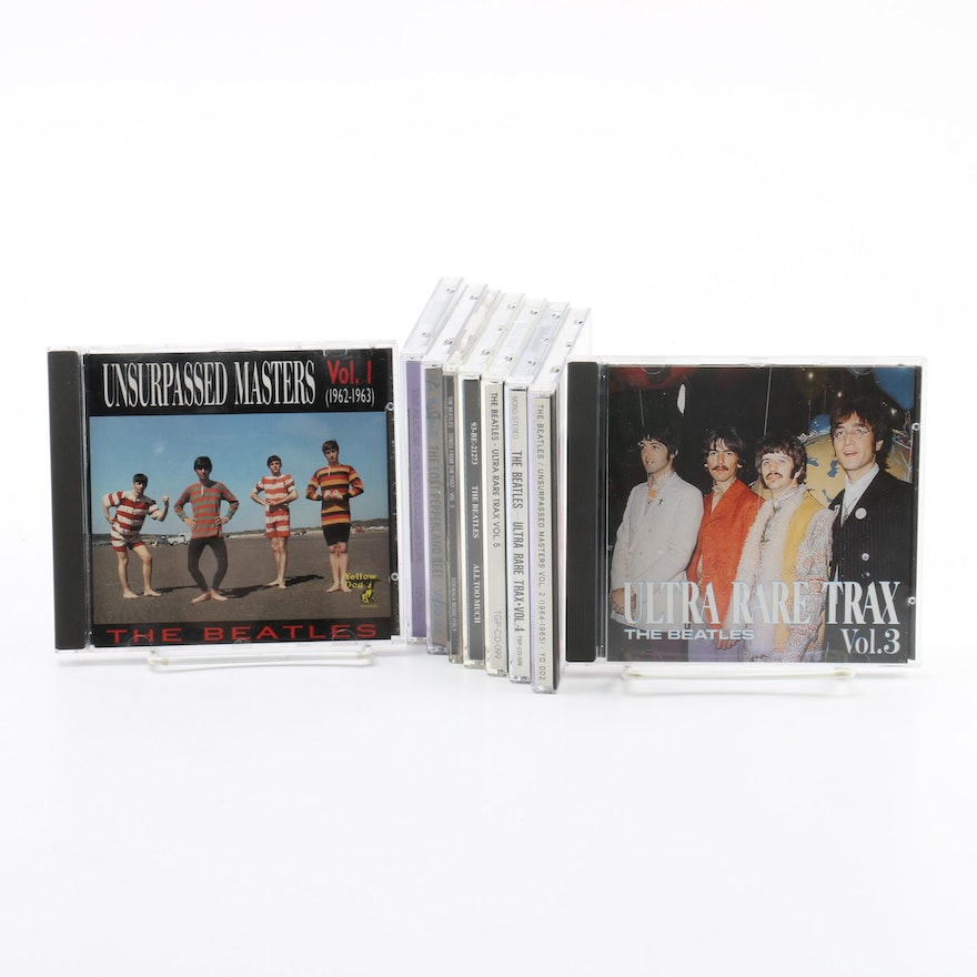 The Beatles Bootleg CDs Including