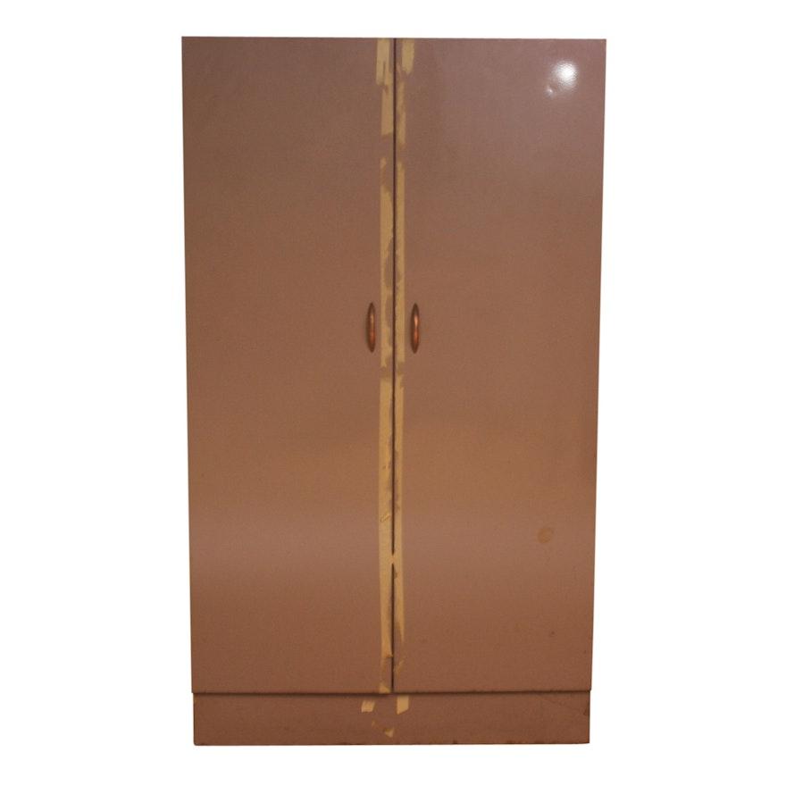 Vintage Metal Cabinet By Sandusky Products Inc