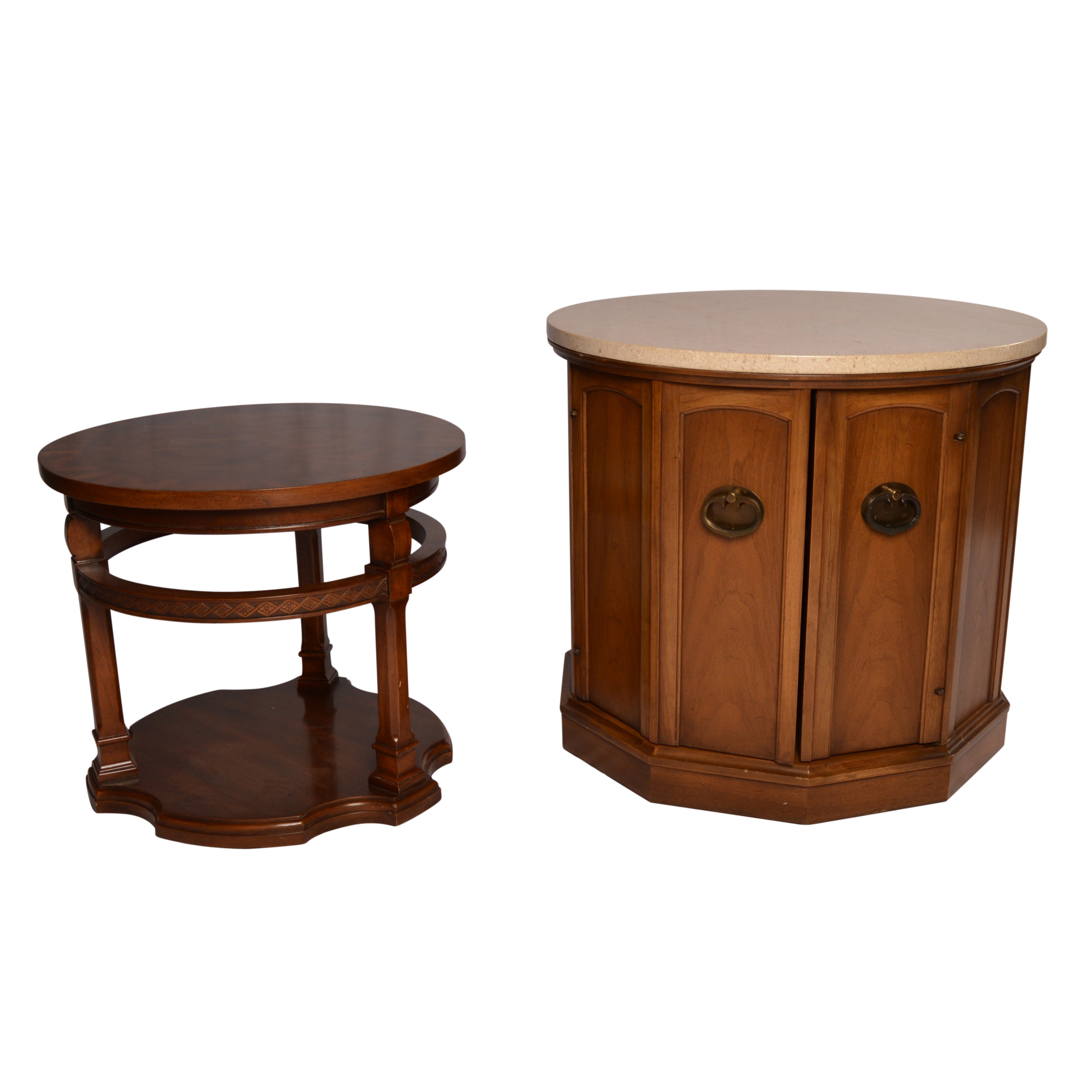 MidCentury End Tables Featuring Weiman EBTH