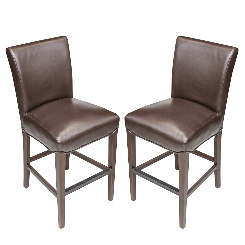 Superb Pair Of Contemporary Side Chairs ...