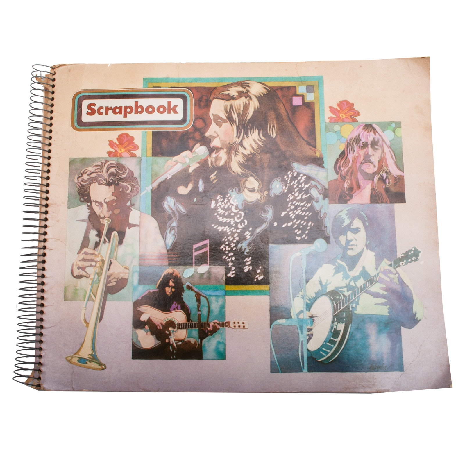 "Vintage ""Beatles"" Scrapbook"