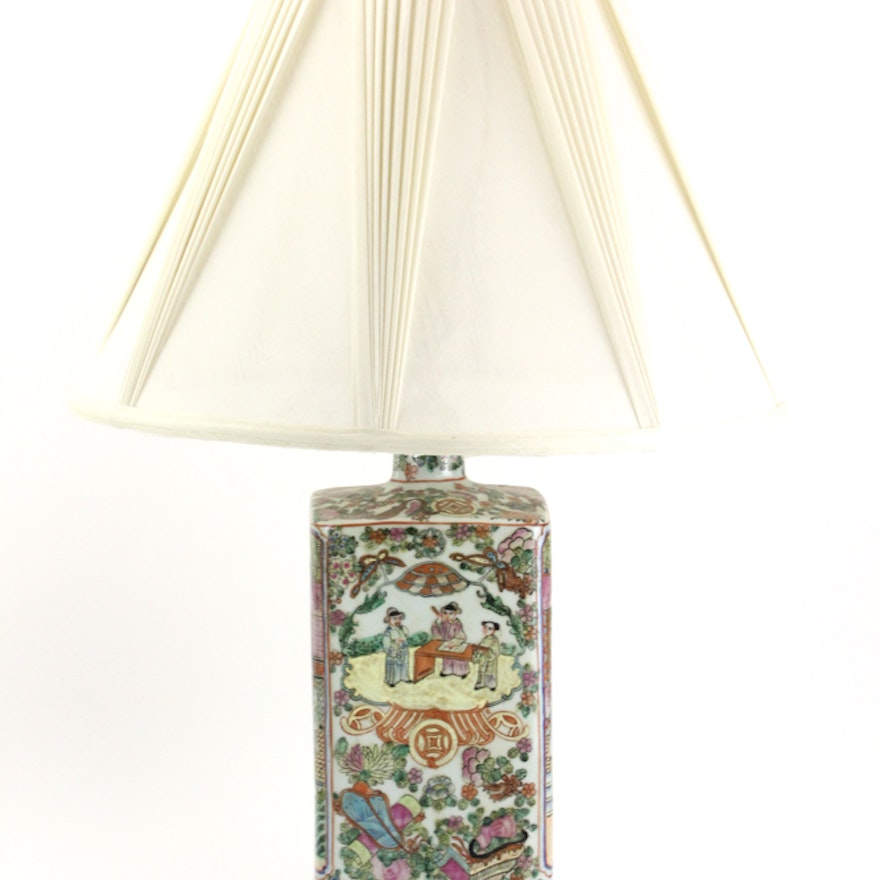 Chinese ceramic table lamp ebth chinese ceramic table lamp aloadofball Choice Image