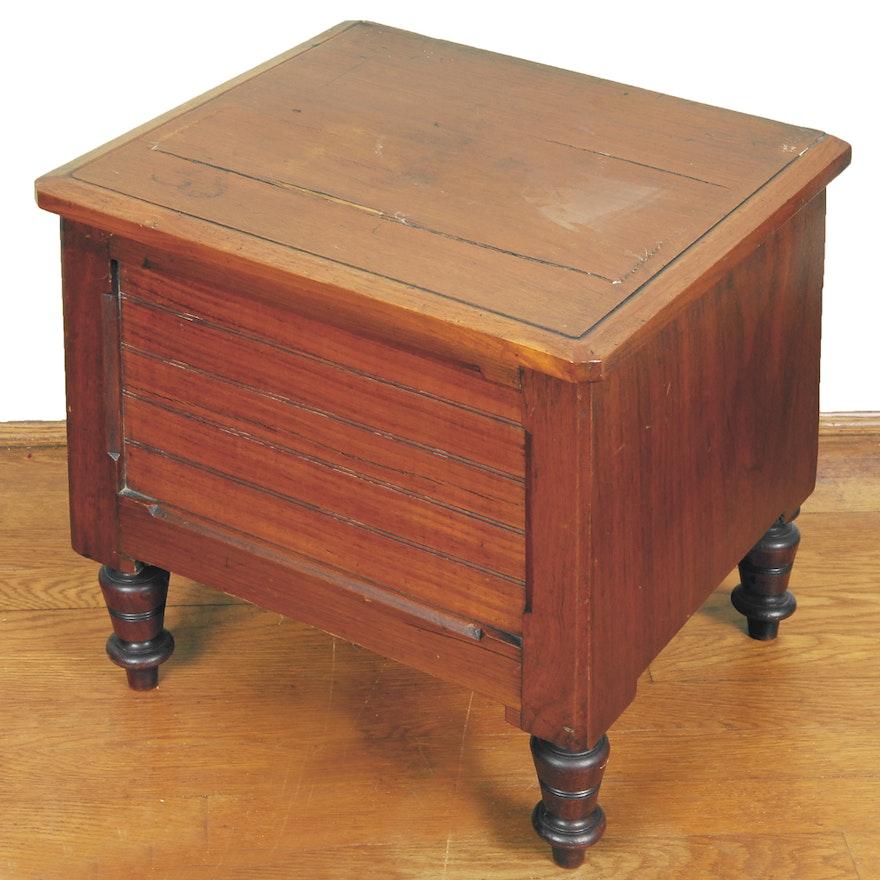 Antique Chamber Pot Cabinet Ebth