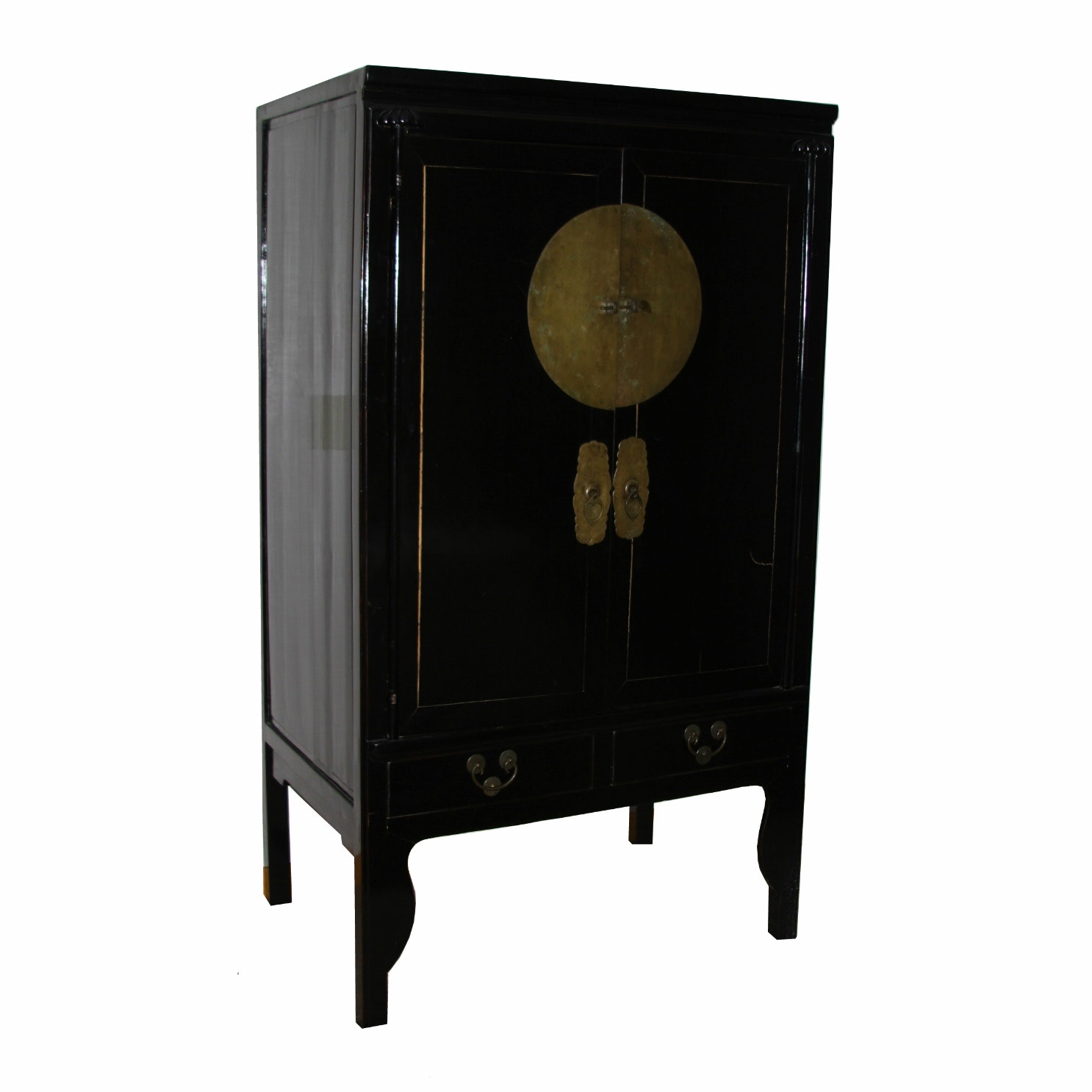 Superbe Vintage Chinese Wedding Cabinet ...
