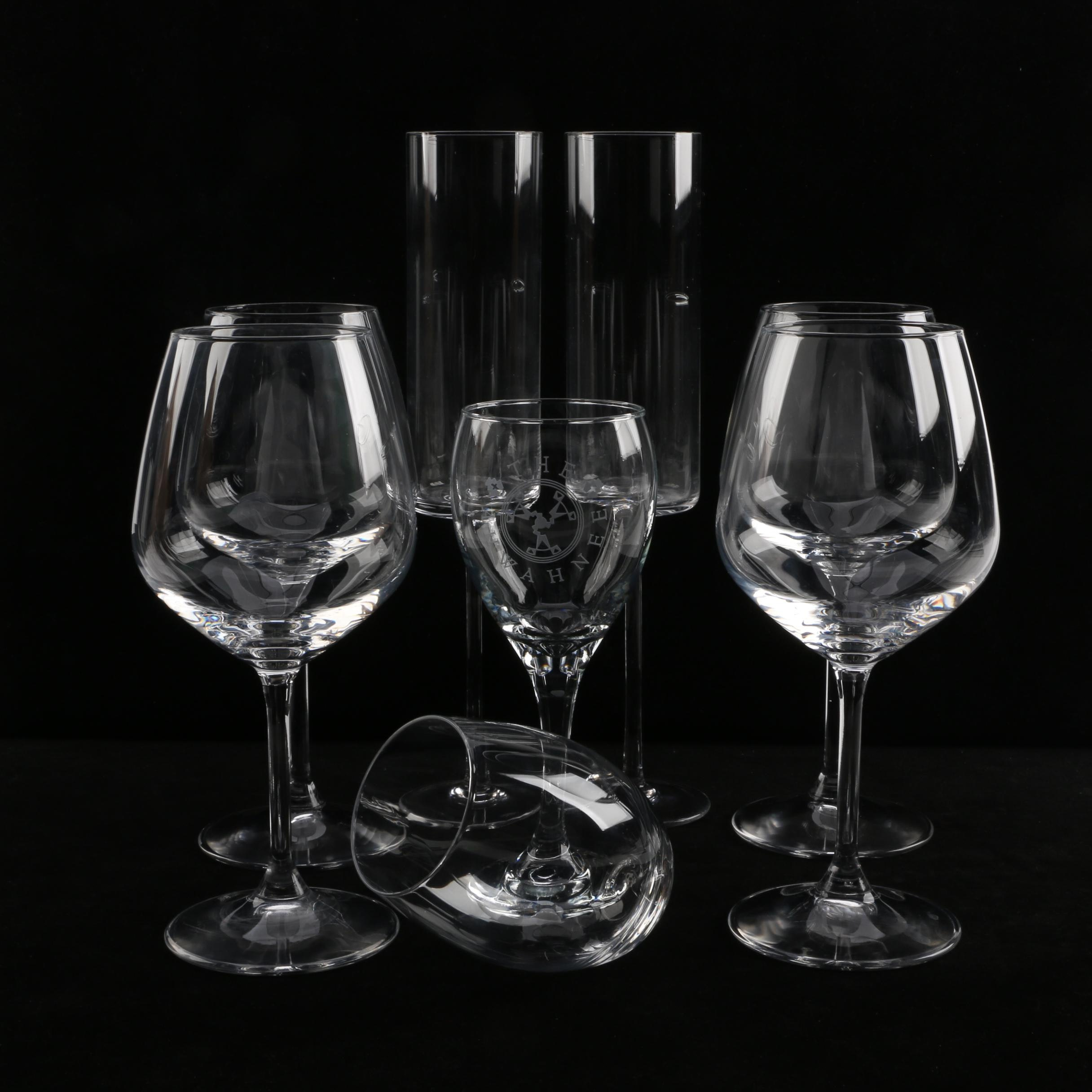 Glass Stemware Featuring Calvin Klein