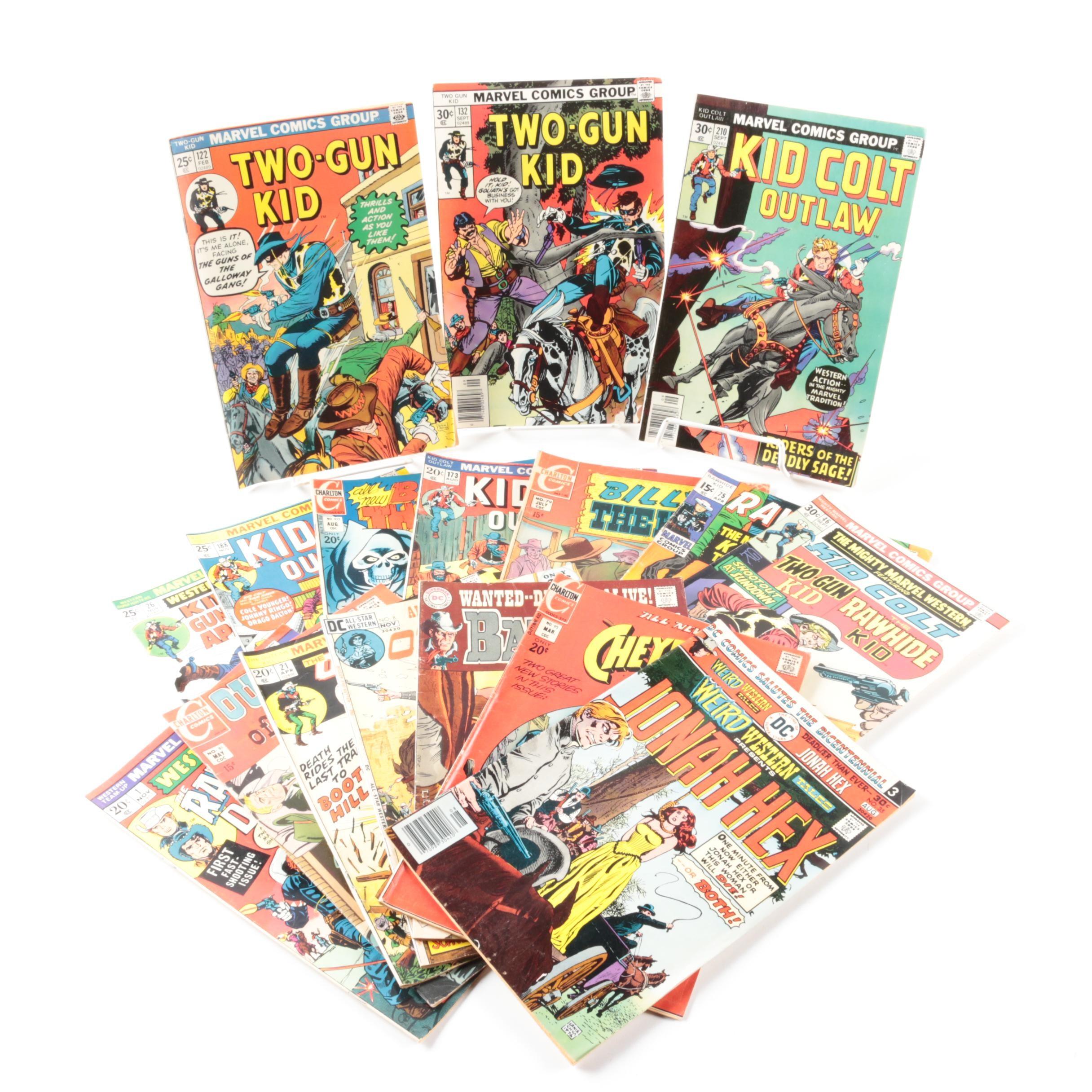 Bronze Age Marvel, DC, and Charlton Comic Books