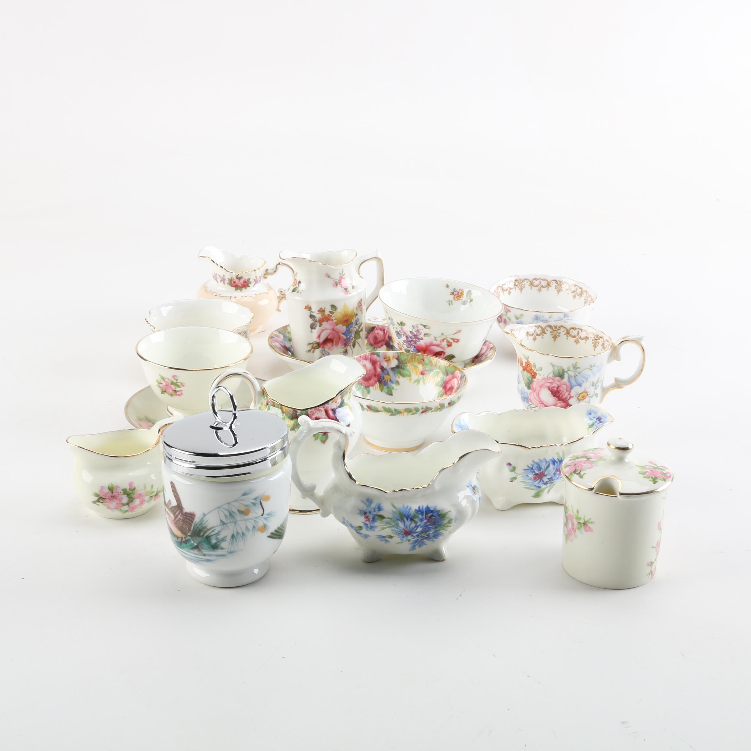 Porcelain Tableware Including Royal Crown Derby \ Posies\  ... & Porcelain Tableware Including Royal Crown Derby \