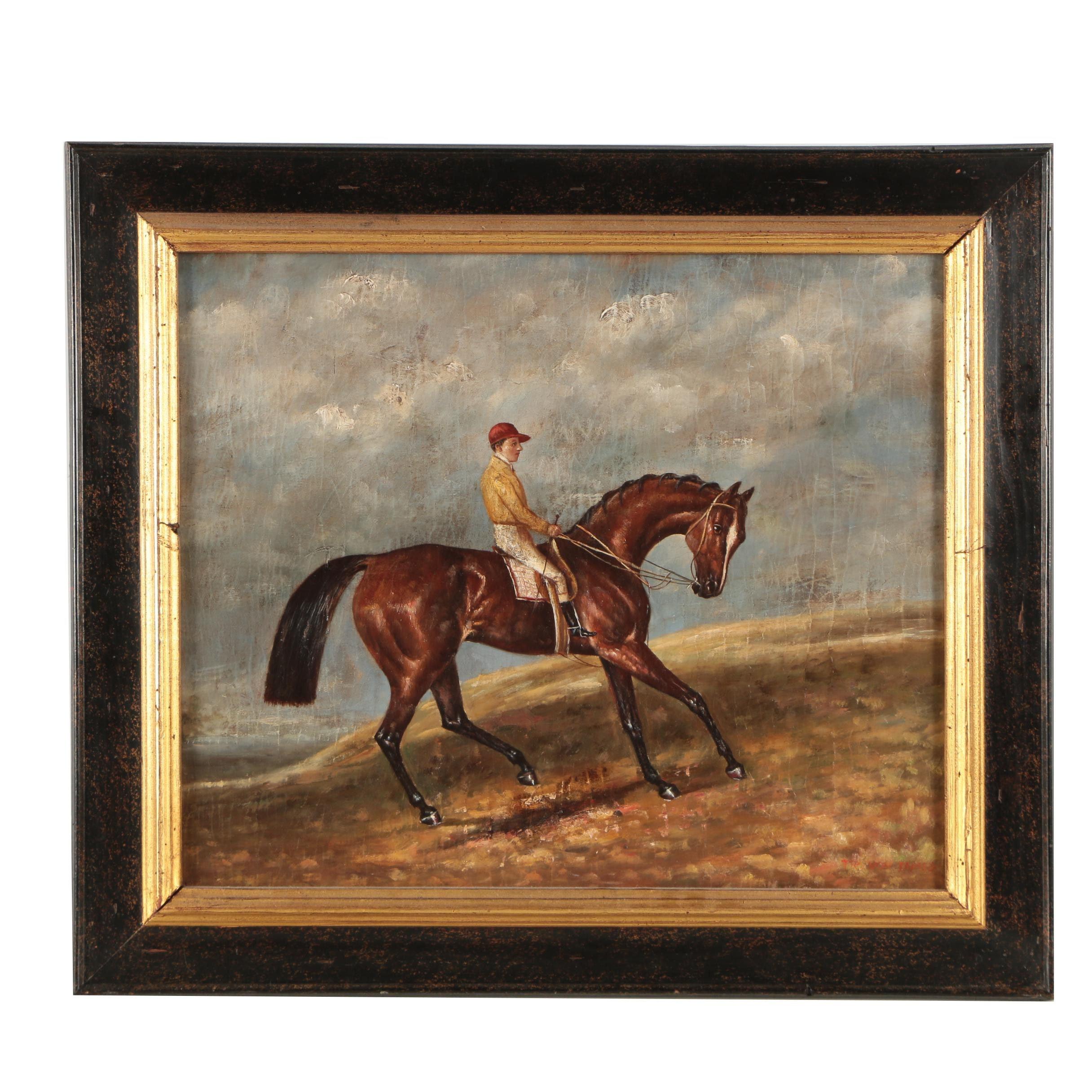 Trevor James Oil Painting