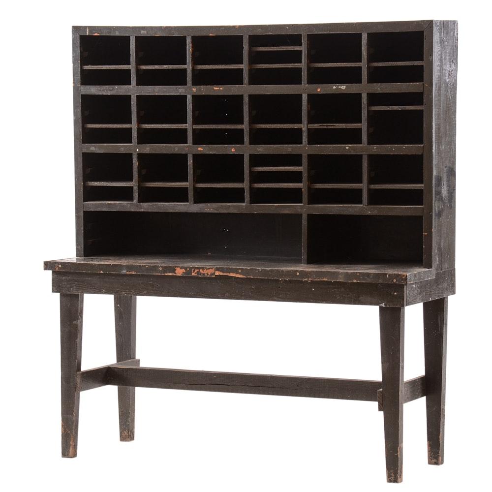 Vintage Mail Cabinet