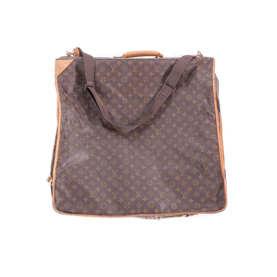 fba66bf5880d Louis Vuitton Monogram Canvas Garment Bag   EBTH