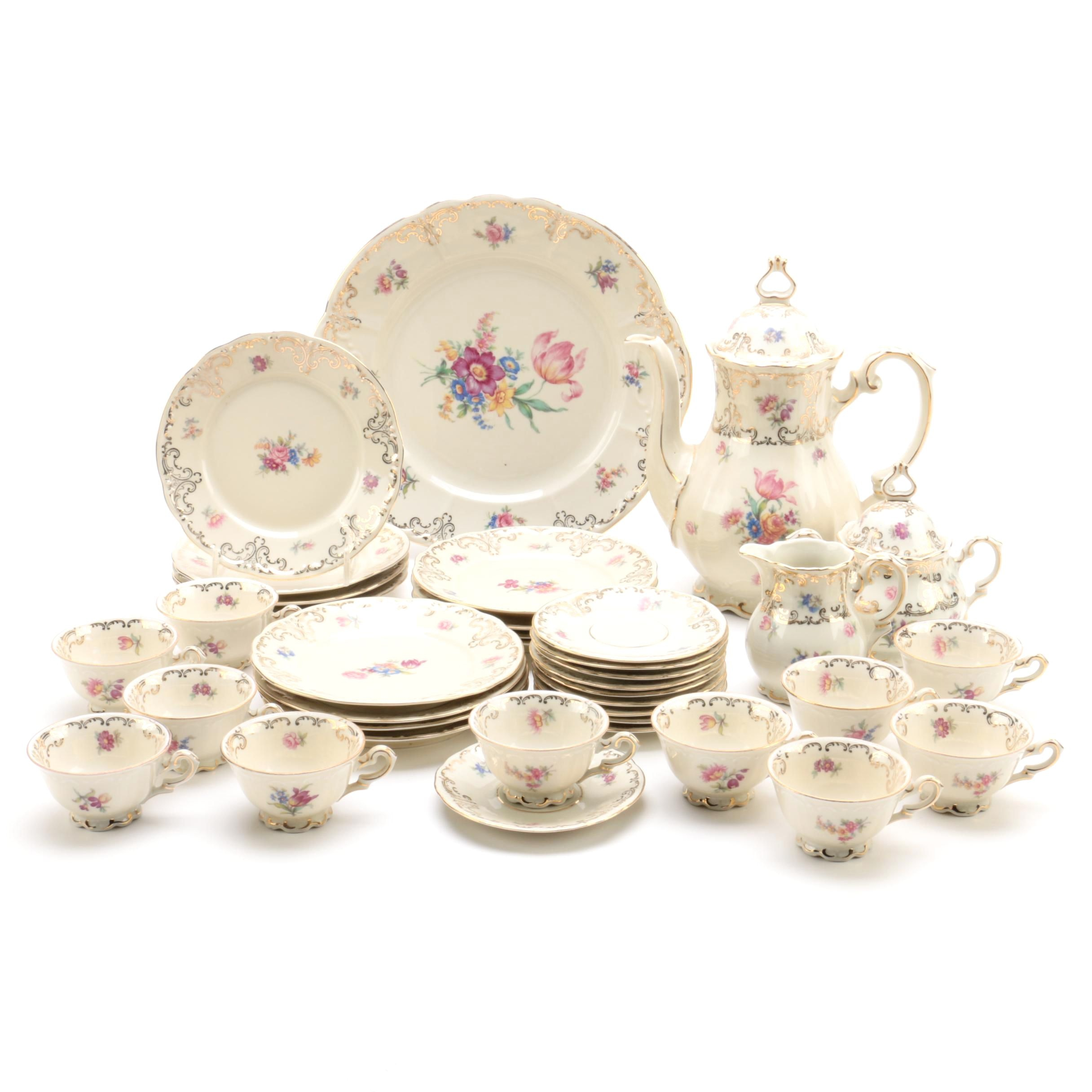Bavarian Porcelain Coffee Service