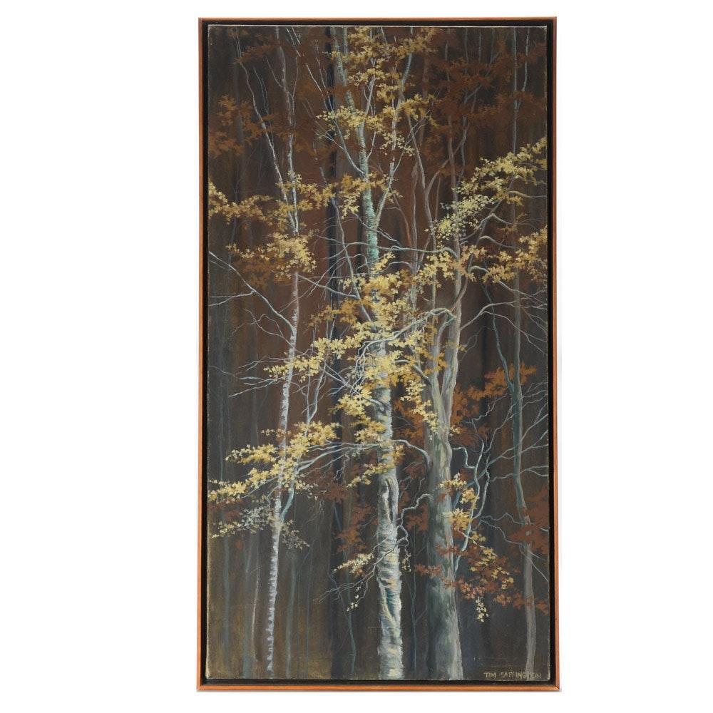 Tim Sappington Original Oil Painting on Canvas