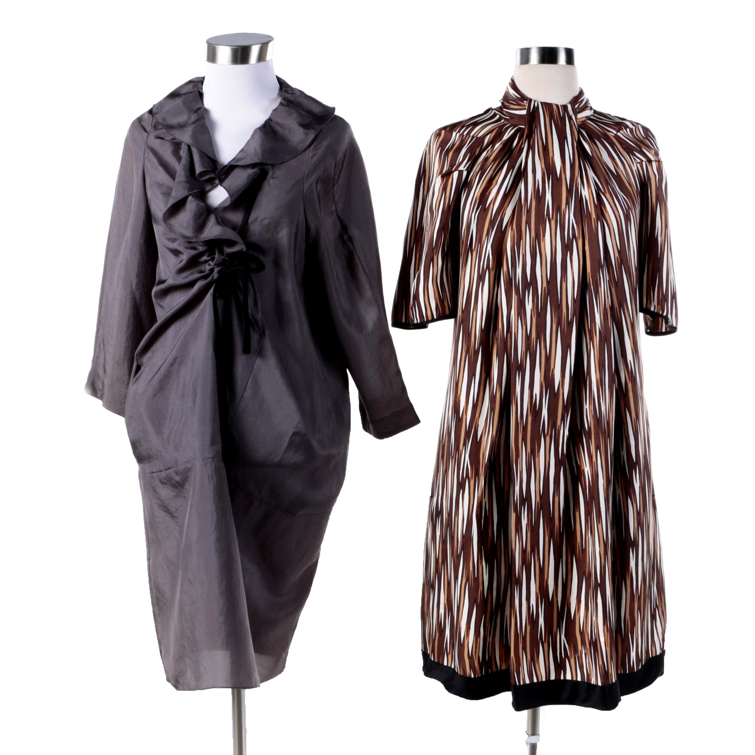 Marc Jacobs Print Dress and Marni Grey Dress