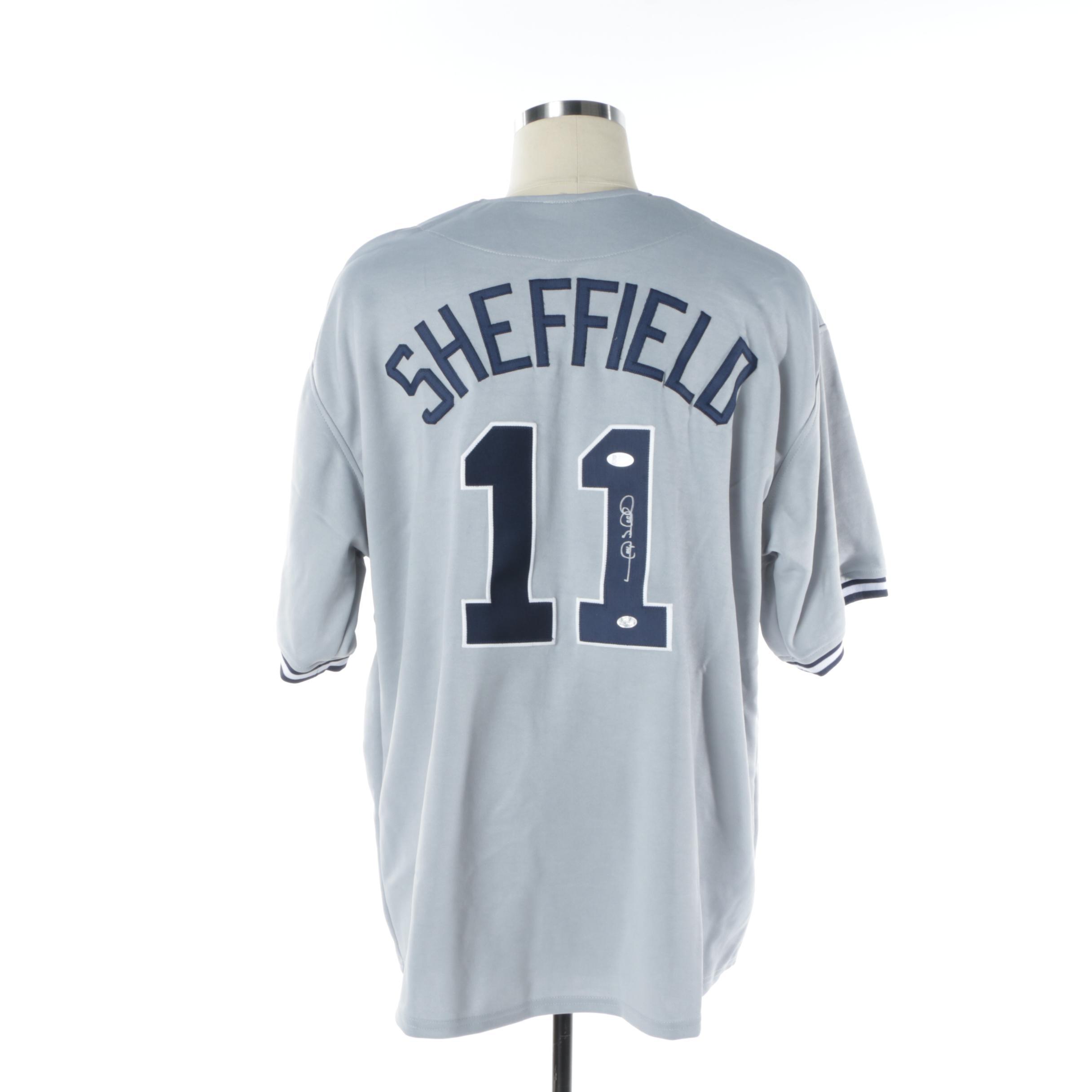 Gary Sheffield Autographed New York Yankees Jersey - Beckett COA
