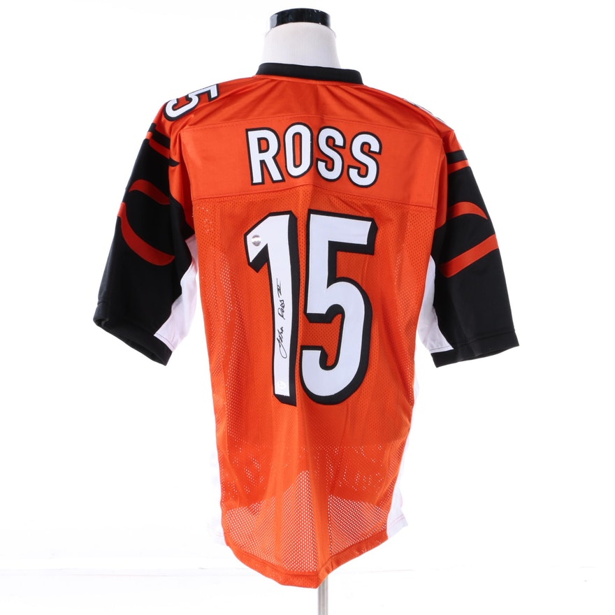 45927b703 John Ross Autographed Cincinnati Bengals Jersey - JSA COA   EBTH
