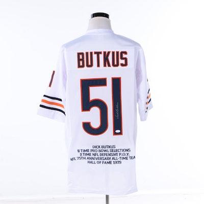 79c5a0cc199 Dick Butkus Autographed Chicago Bears Jersey - JSA COA