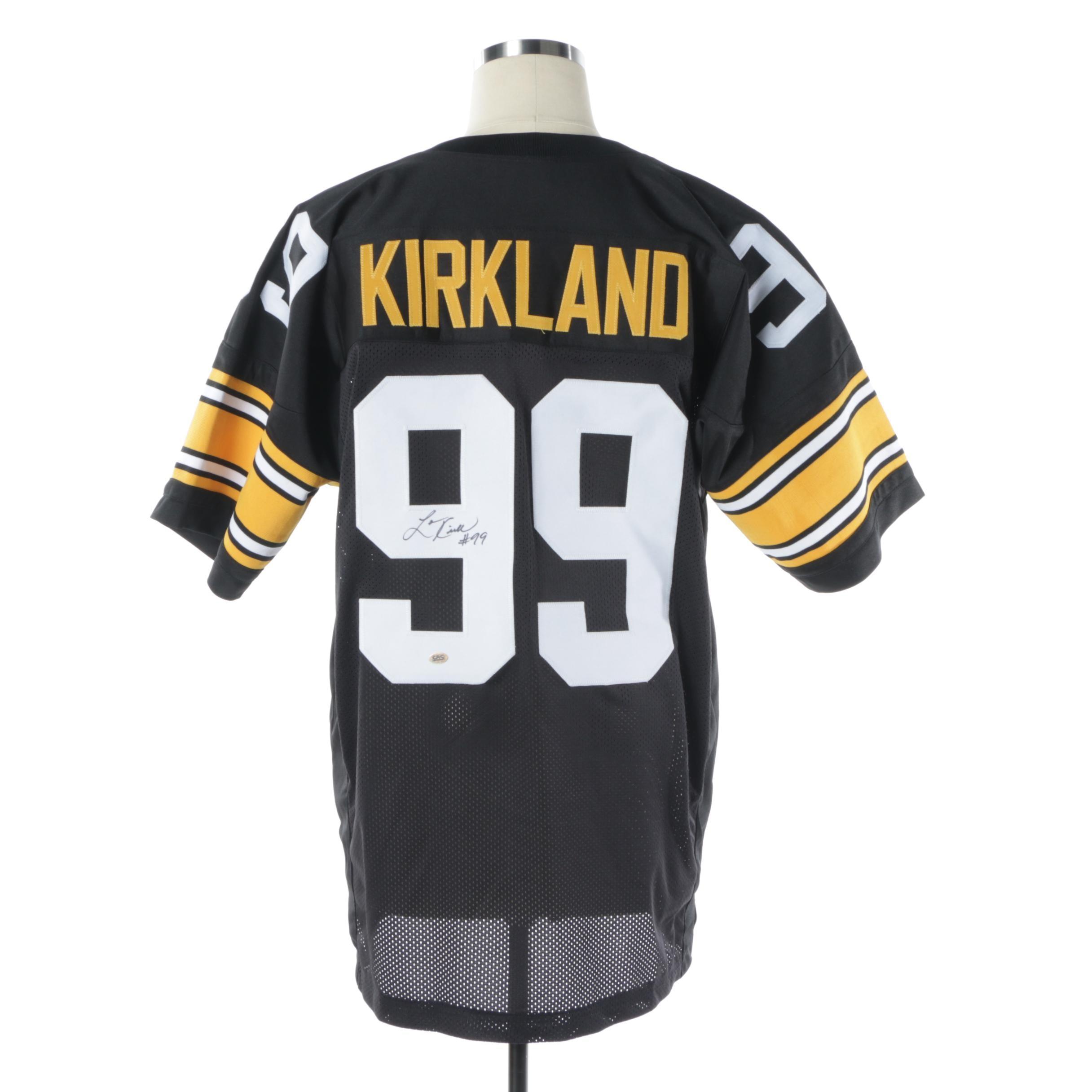 Levon Kirkland Autographed Pittsburgh Steelers Jersey