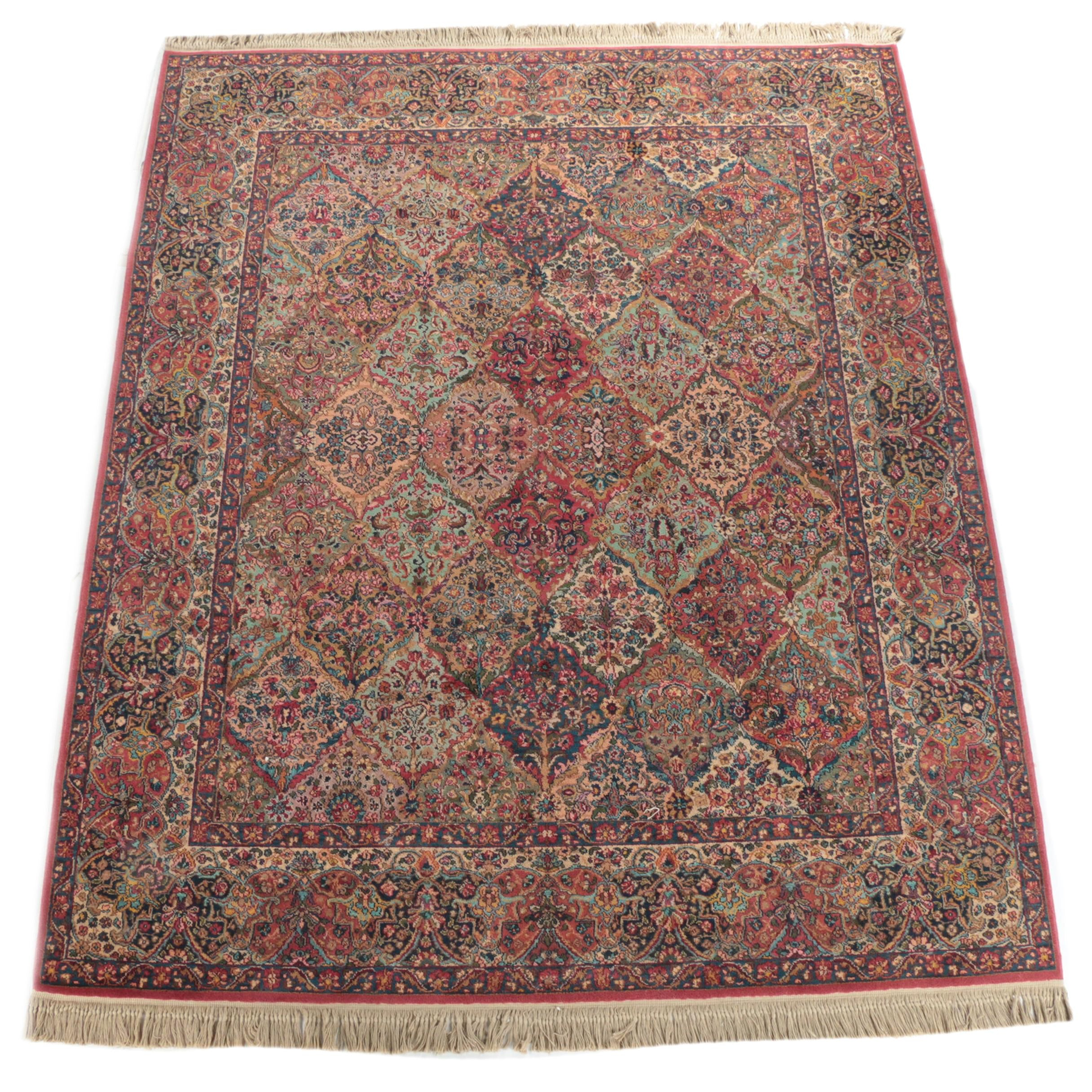 "Power-Loomed Karastan ""Kirman"" Wool Area Rug"